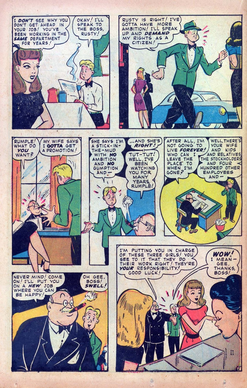 Read online Millie the Model comic -  Issue #9 - 34