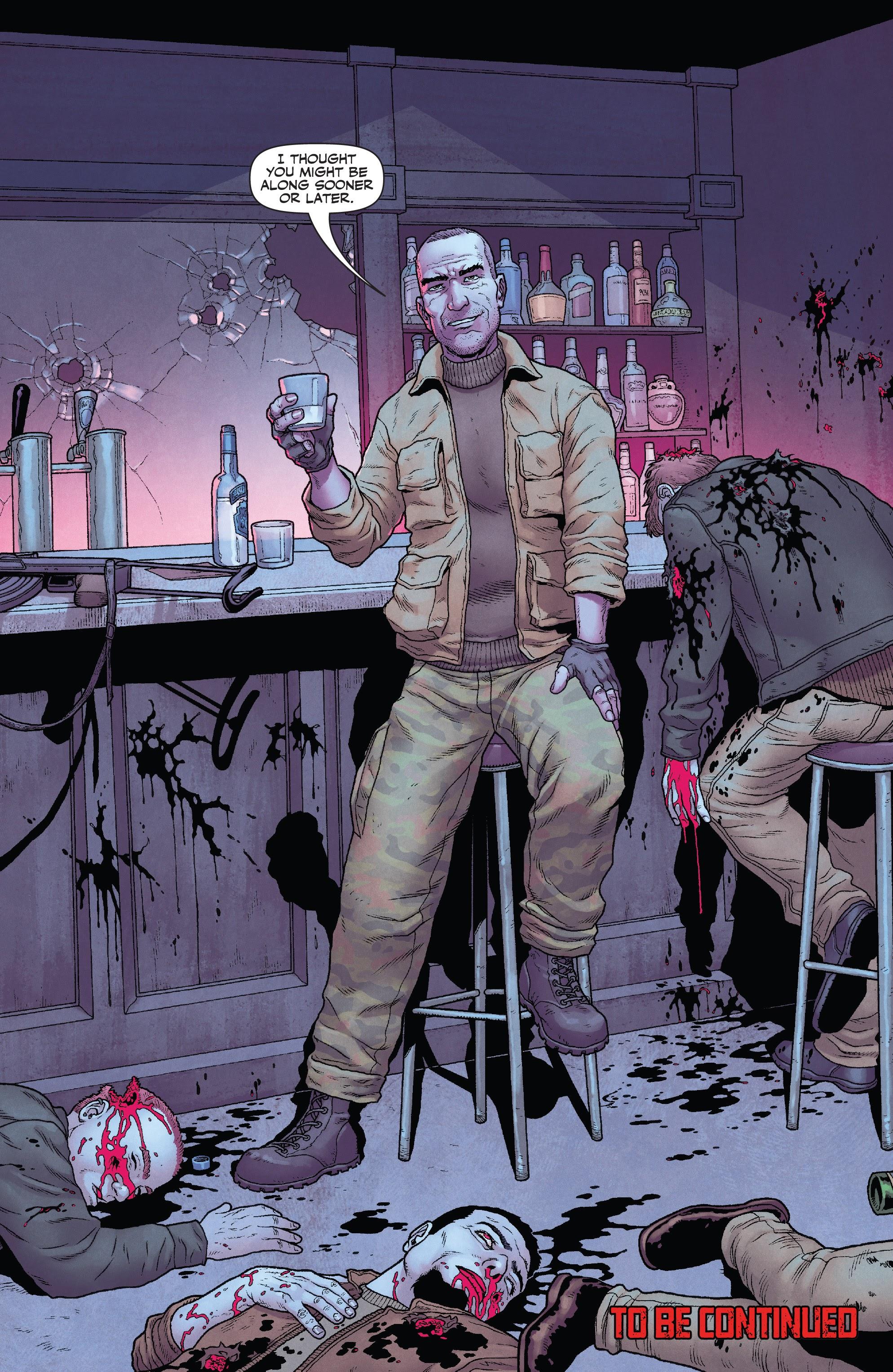 【漫威宇宙相關】一個全新的制裁者在獵殺俄羅斯的黑幫!法蘭克該怎麼應對?