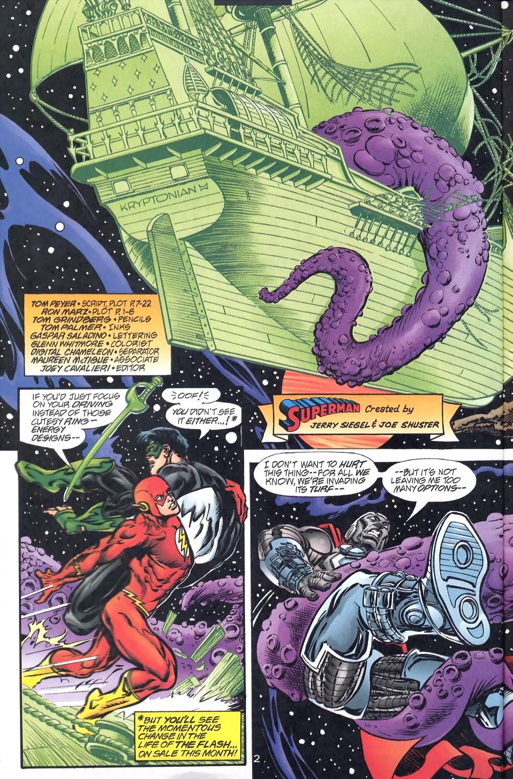 Read online Adventures of Superman (1987) comic -  Issue #570 - 4
