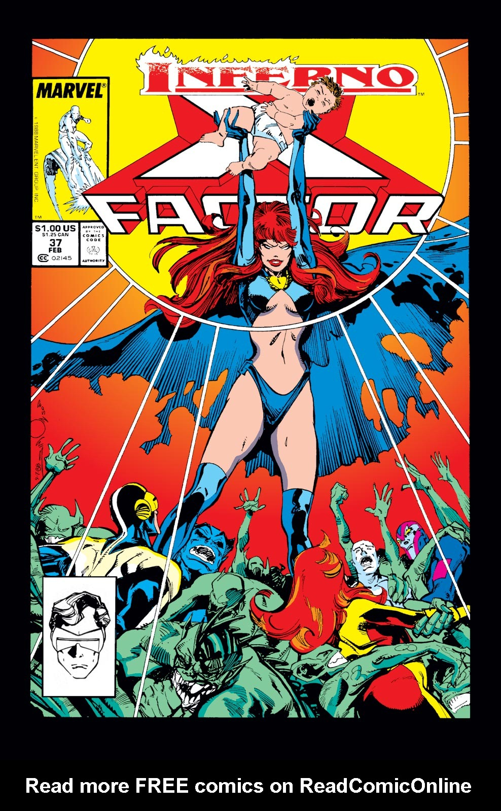 Read online X-Factor (1986) comic -  Issue #37 - 1