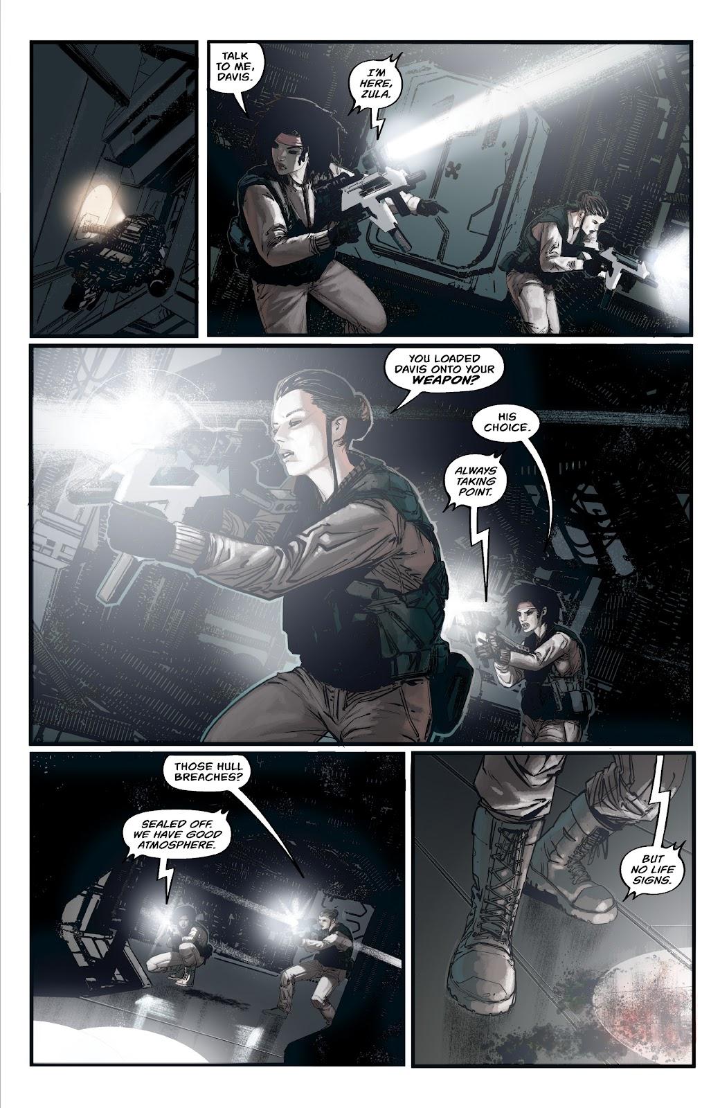 Read online Aliens: Resistance comic -  Issue #2 - 7