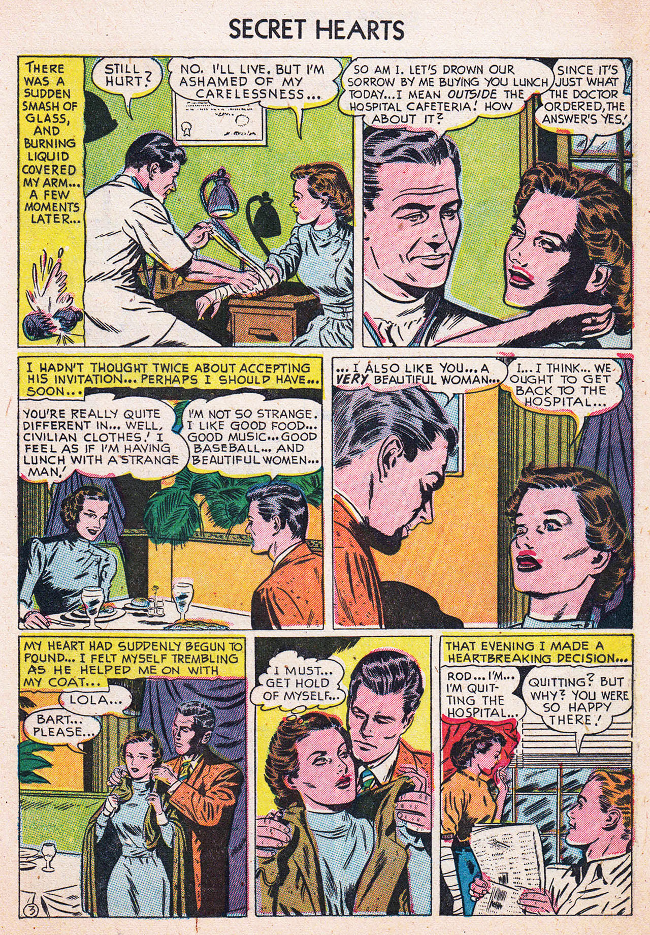 Read online Secret Hearts comic -  Issue #13 - 13