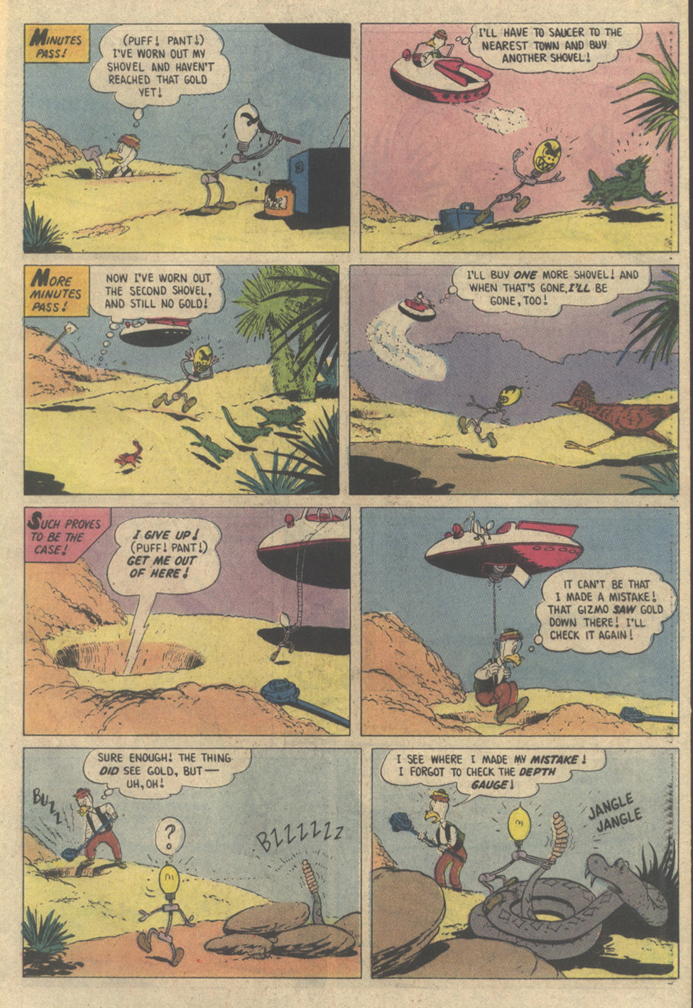 Read online Uncle Scrooge (1953) comic -  Issue #208 - 33