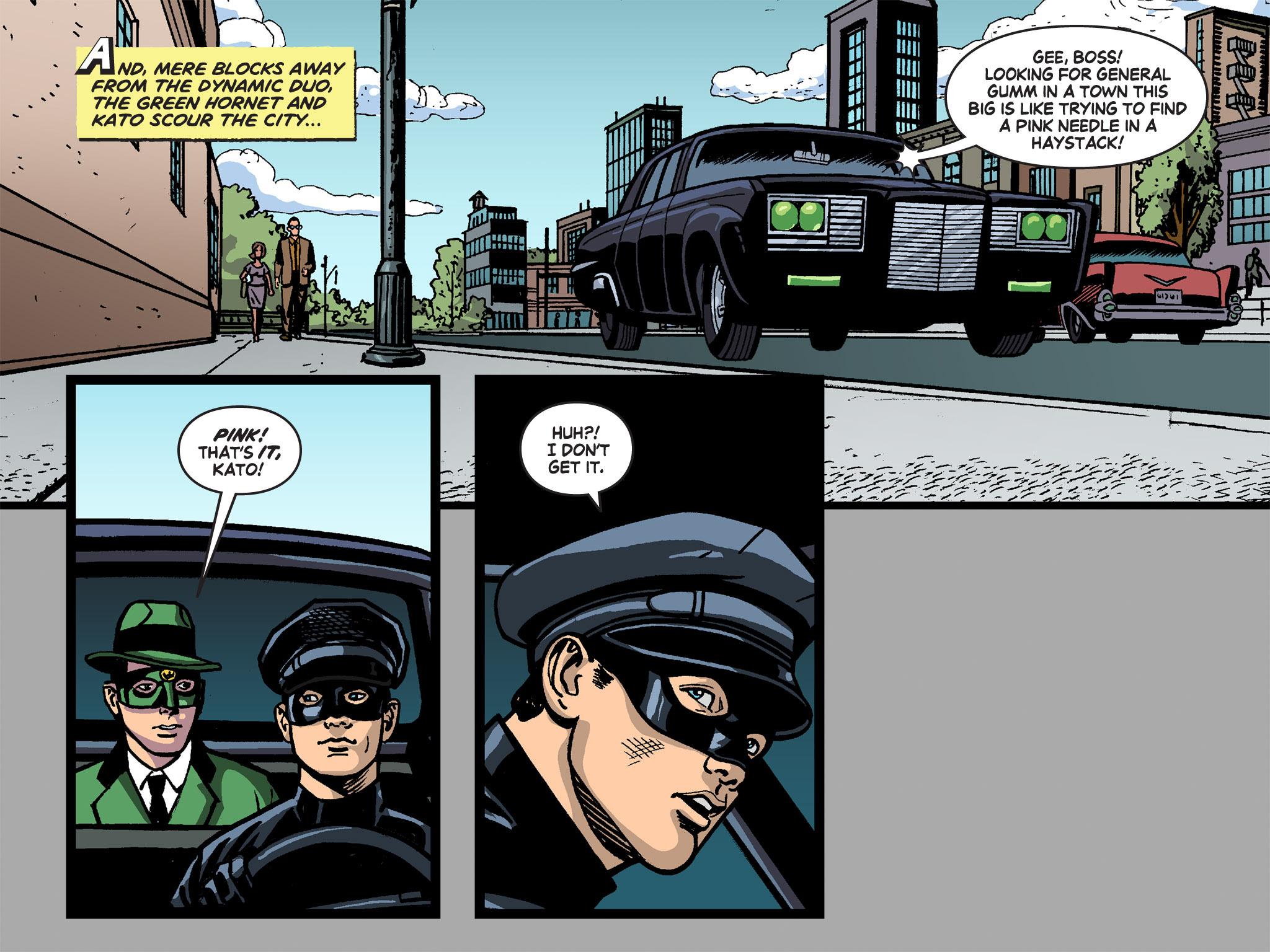 Read online Batman '66 Meets the Green Hornet [II] comic -  Issue #4 - 77