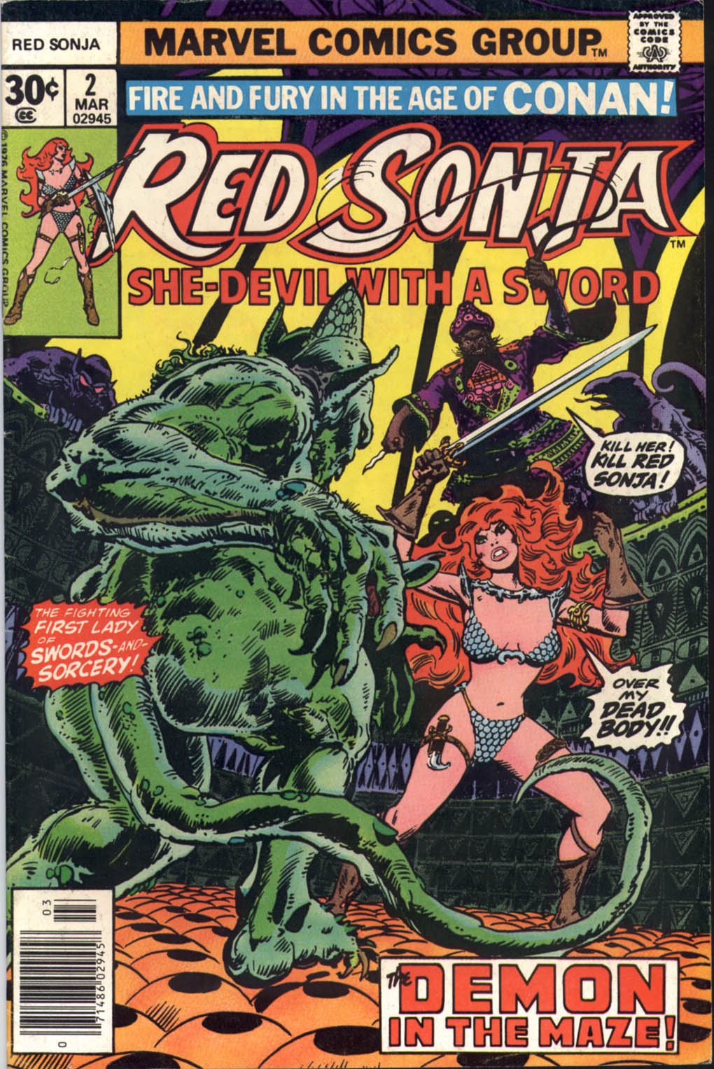 Red Sonja (1977) issue 2 - Page 1