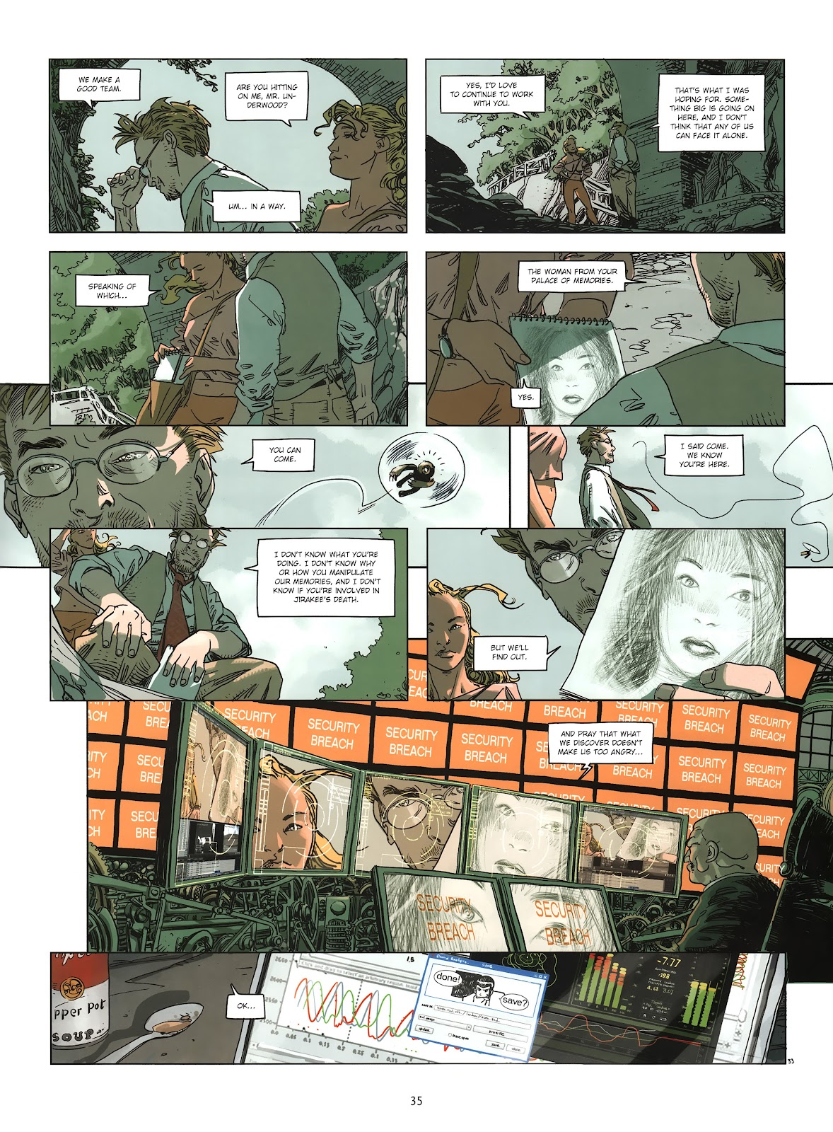 Read online Cutting Edge (2013) comic -  Issue #2 - 34