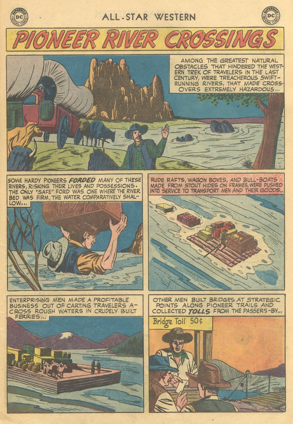 Read online All-Star Western (1951) comic -  Issue #108 - 11