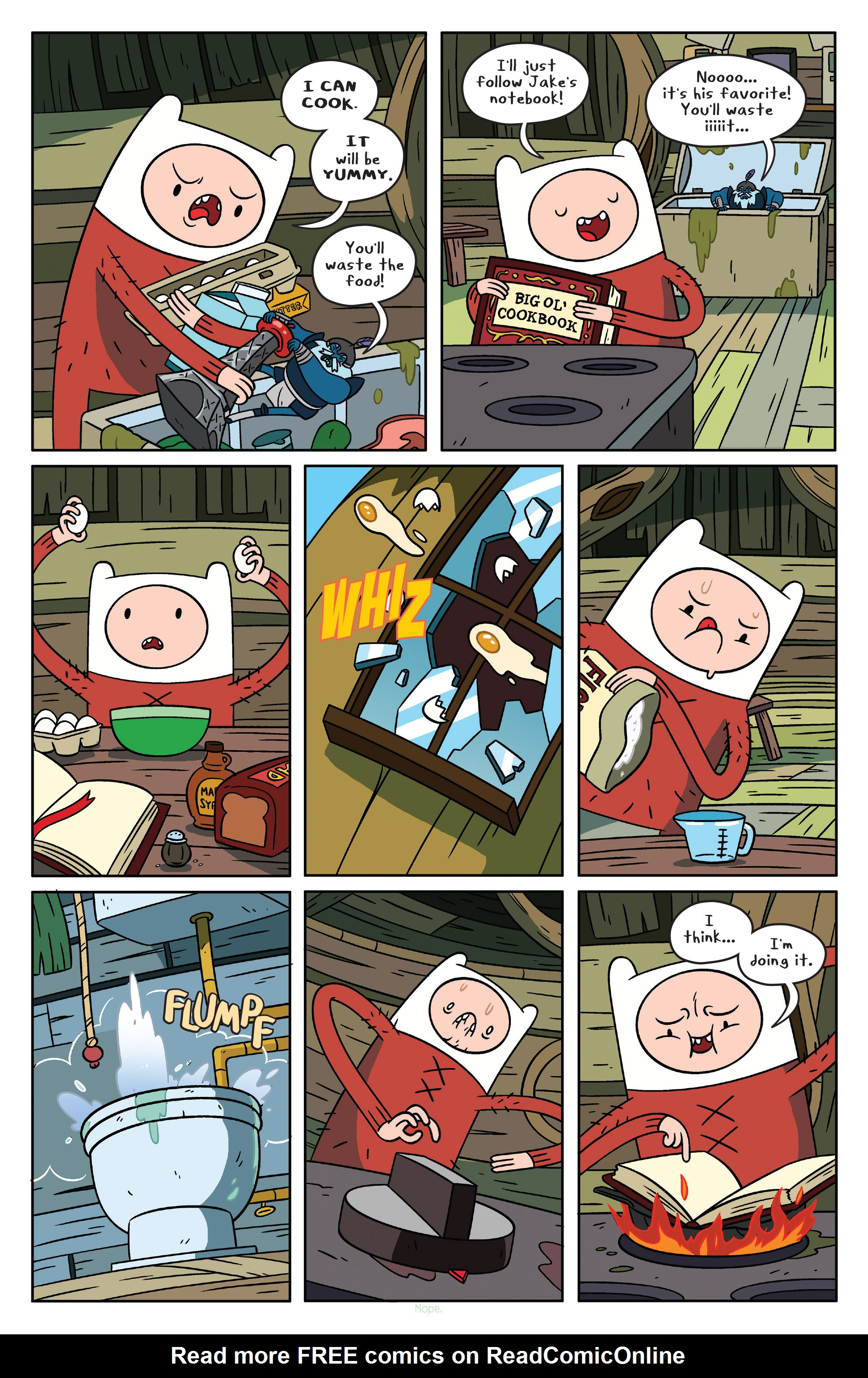 Read online Adventure Time comic -  Issue #37 - 4