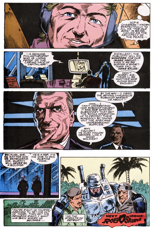 Read online Robocop (1990) comic -  Issue #6 - 23