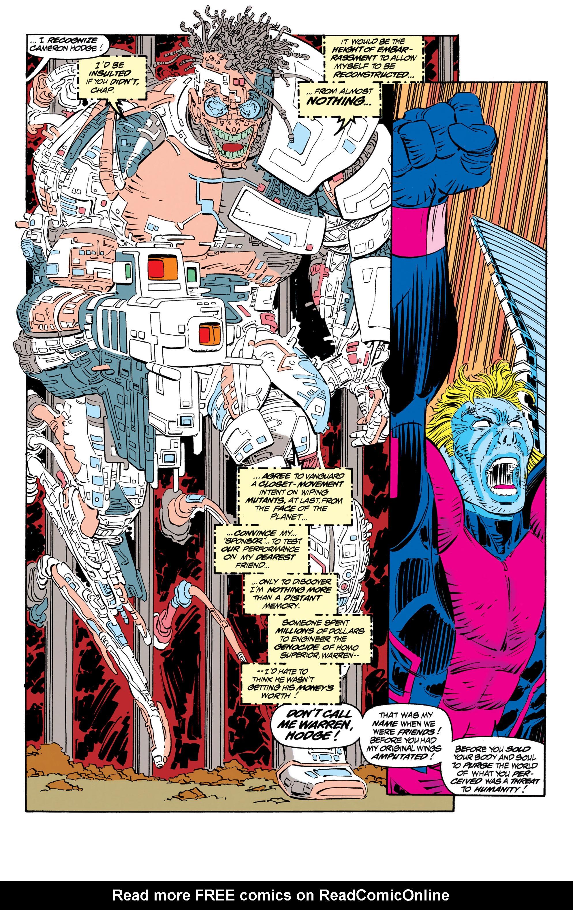 Read online Uncanny X-Men (1963) comic -  Issue #306 - 17