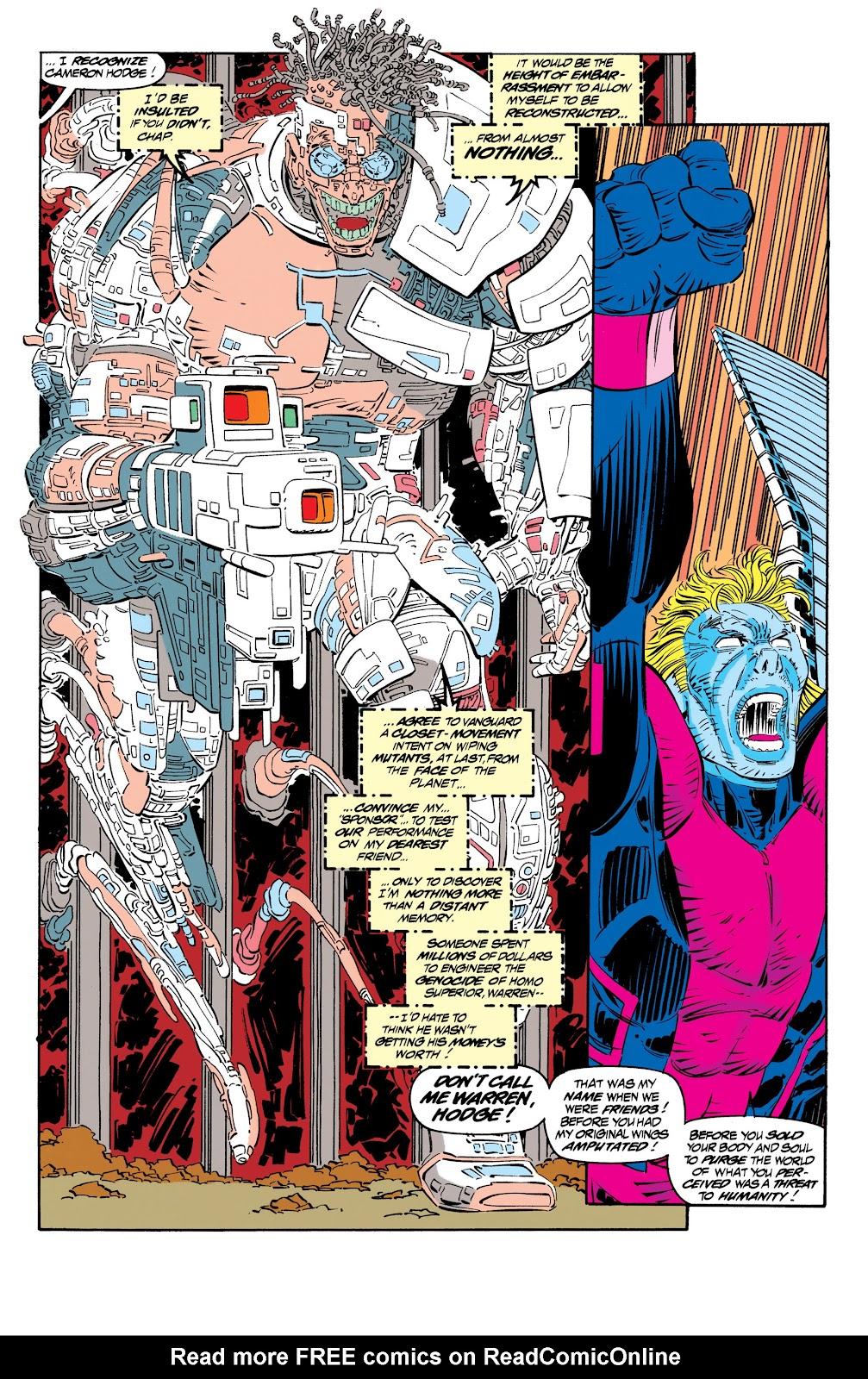 Uncanny X-Men (1963) issue 306 - Page 17