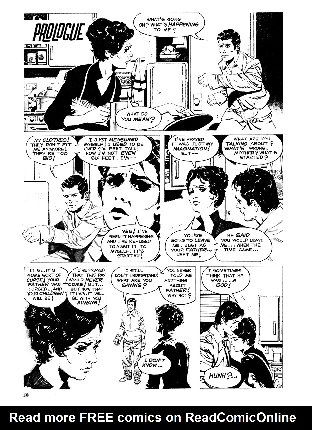 Read online Eerie Archives comic -  Issue # TPB 8 - 139