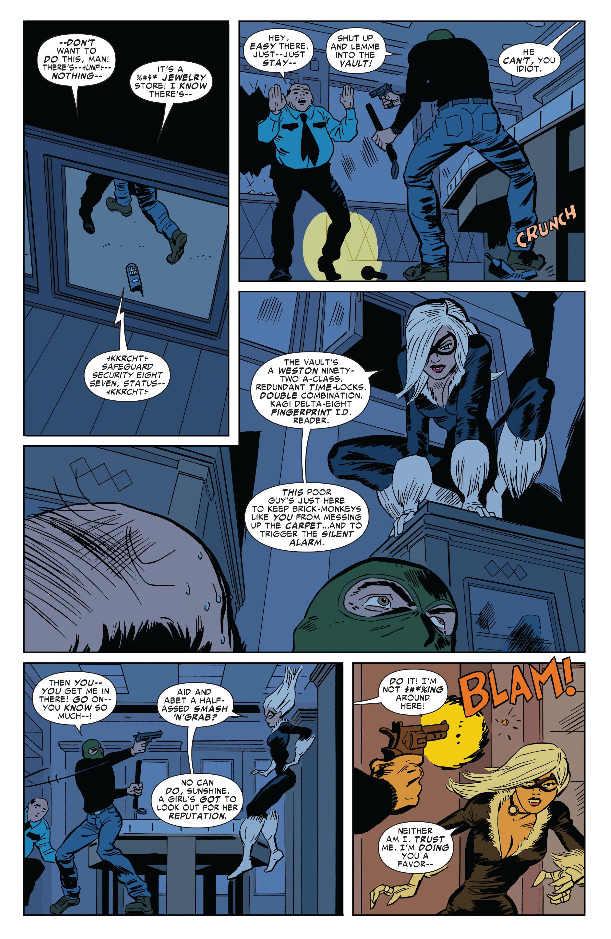 Read online Amazing Spider-Man Presents: Black Cat comic -  Issue #1 - 4