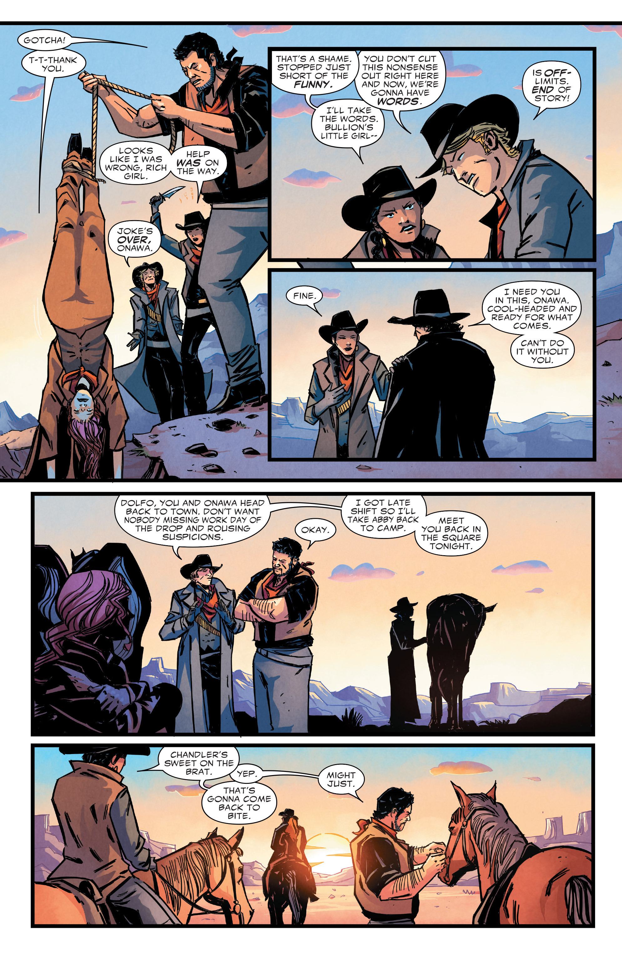 Read online Big Thunder Mountain Railroad comic -  Issue #3 - 5