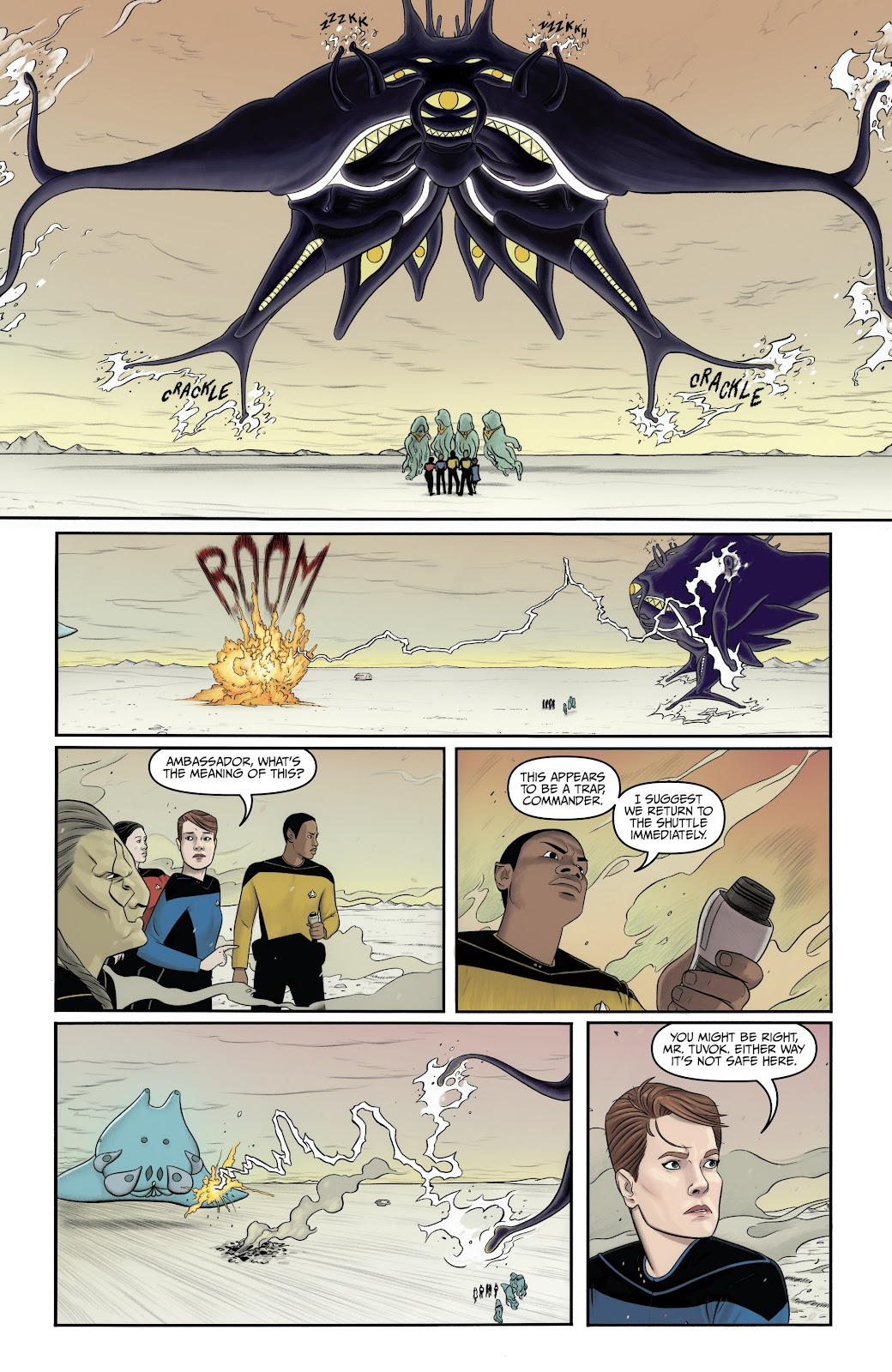 Read online Star Trek: Waypoint Special 2019 comic -  Issue # Full - 27