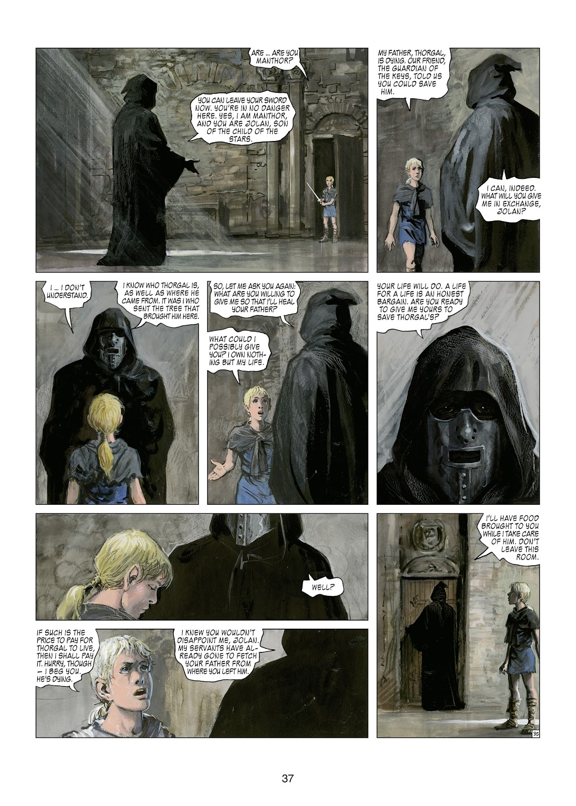 Read online Thorgal comic -  Issue #21 - 39