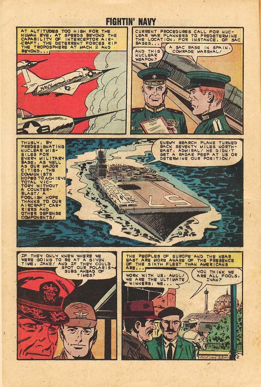 Read online Fightin' Navy comic -  Issue #113 - 12