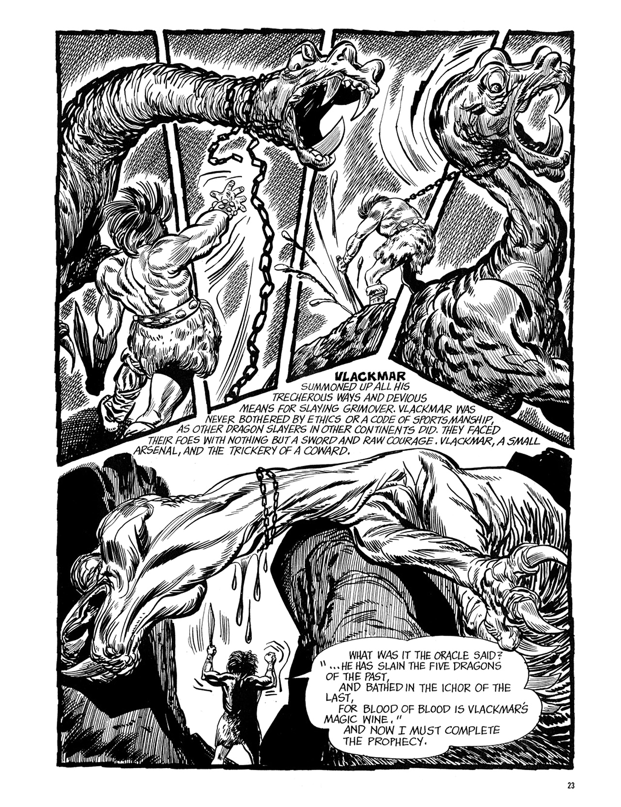 Read online Eerie Archives comic -  Issue # TPB 5 - 24