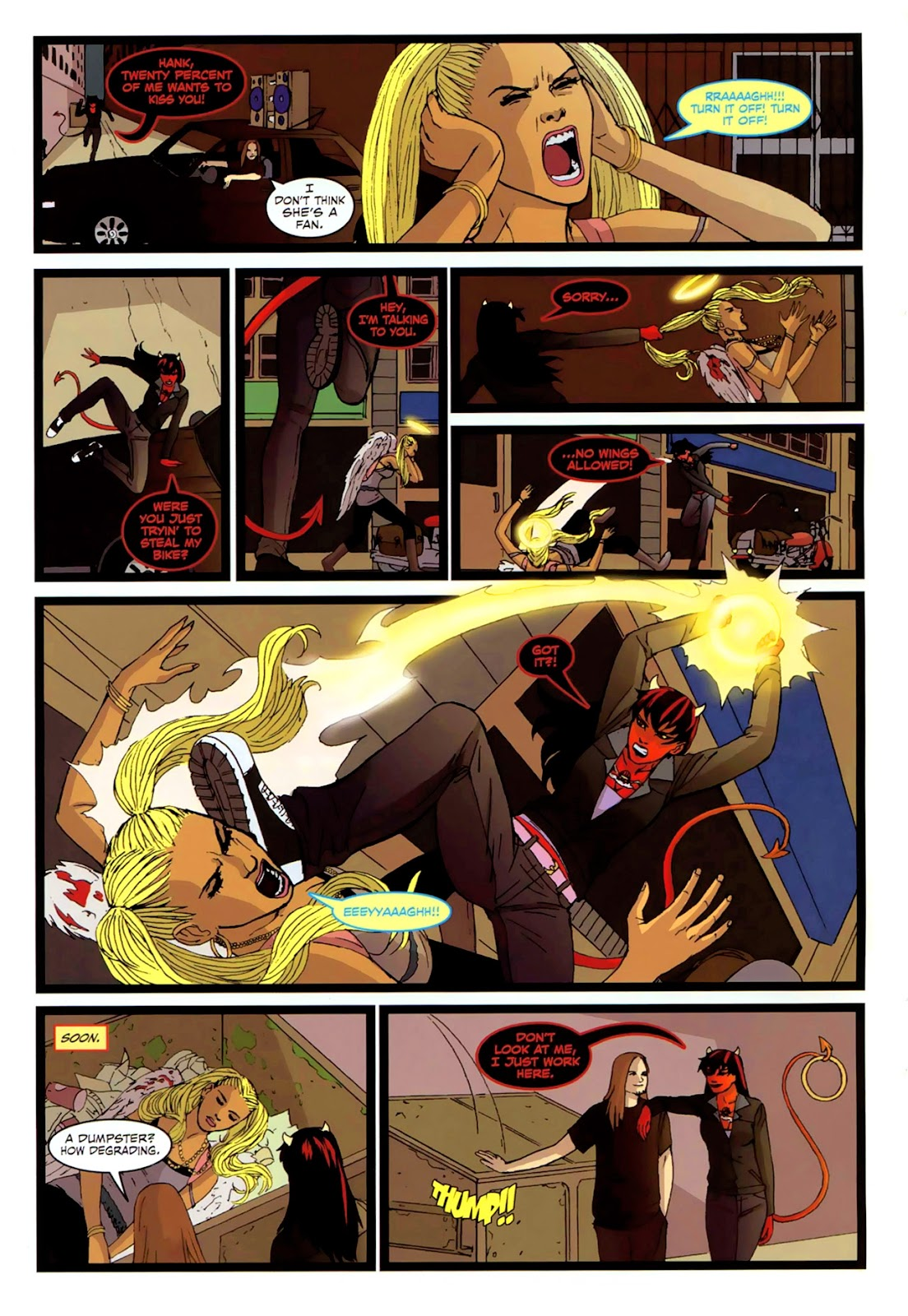 Read online Mercy Sparx (2008) comic -  Issue #2 - 21