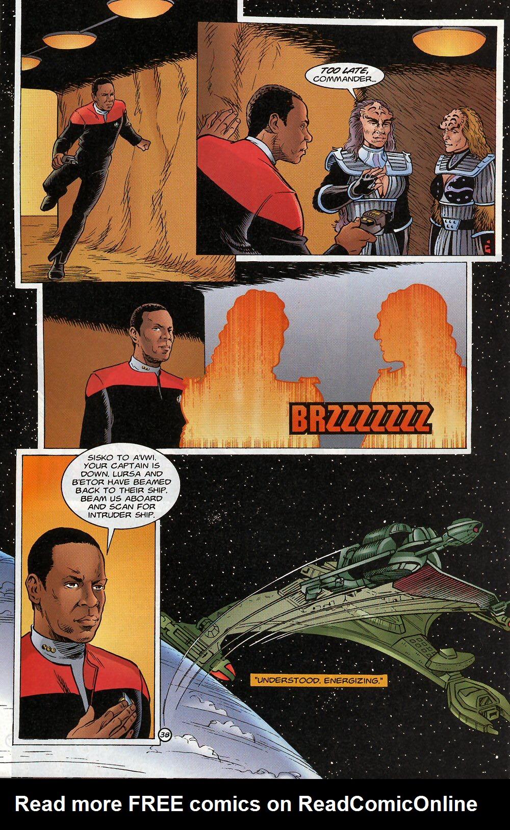 Read online Star Trek: Deep Space Nine - Lightstorm comic -  Issue # Full - 38