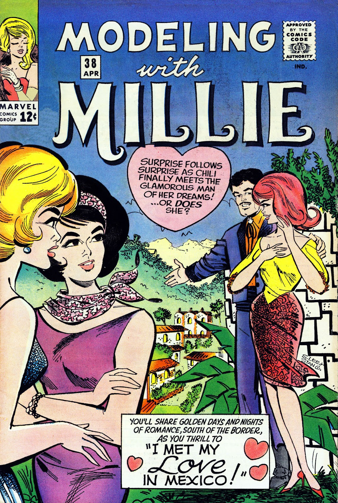 Modeling With Millie issue 38 - Page 1