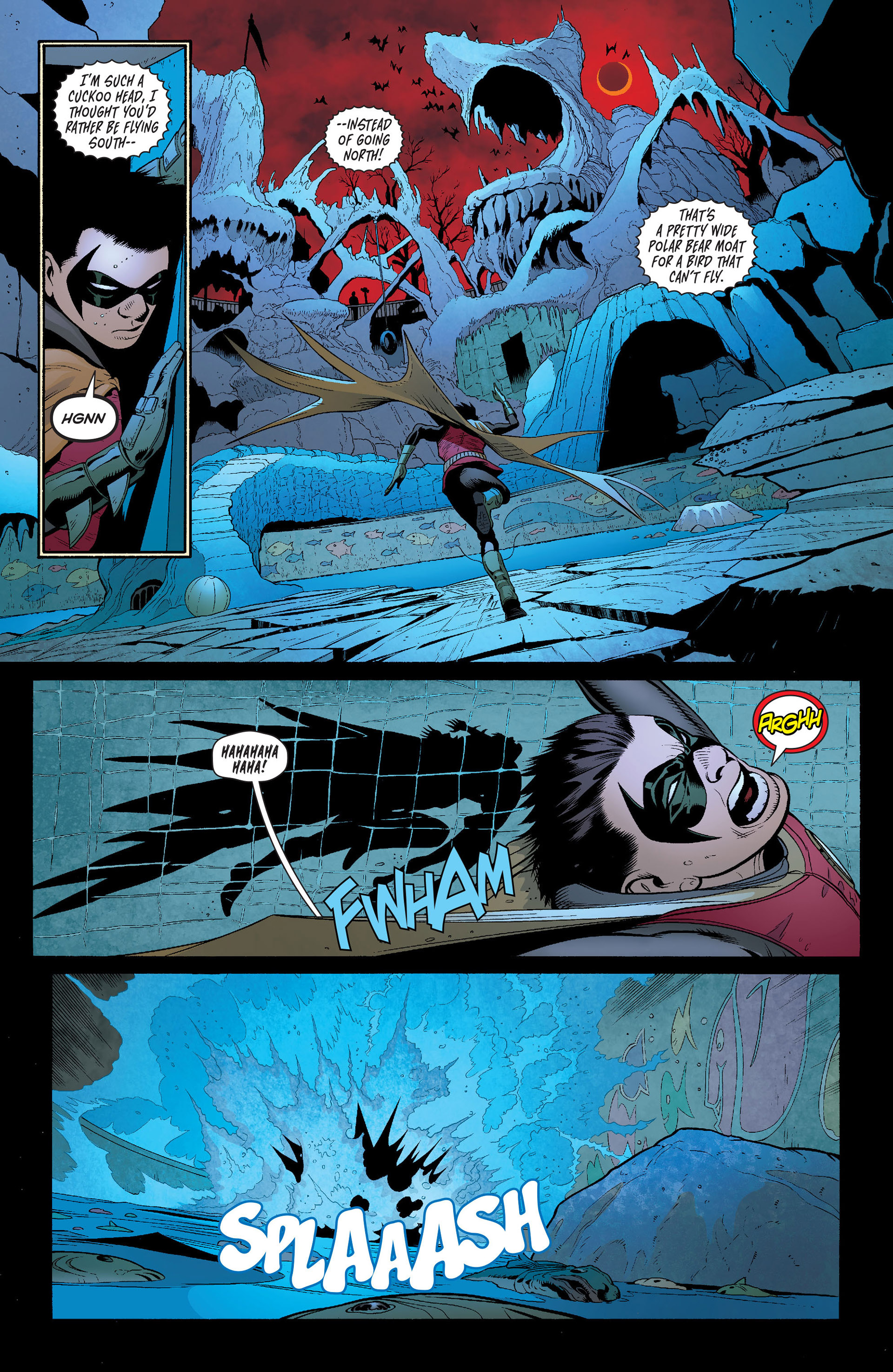 Read online Batman and Robin (2011) comic -  Issue #16 - 10