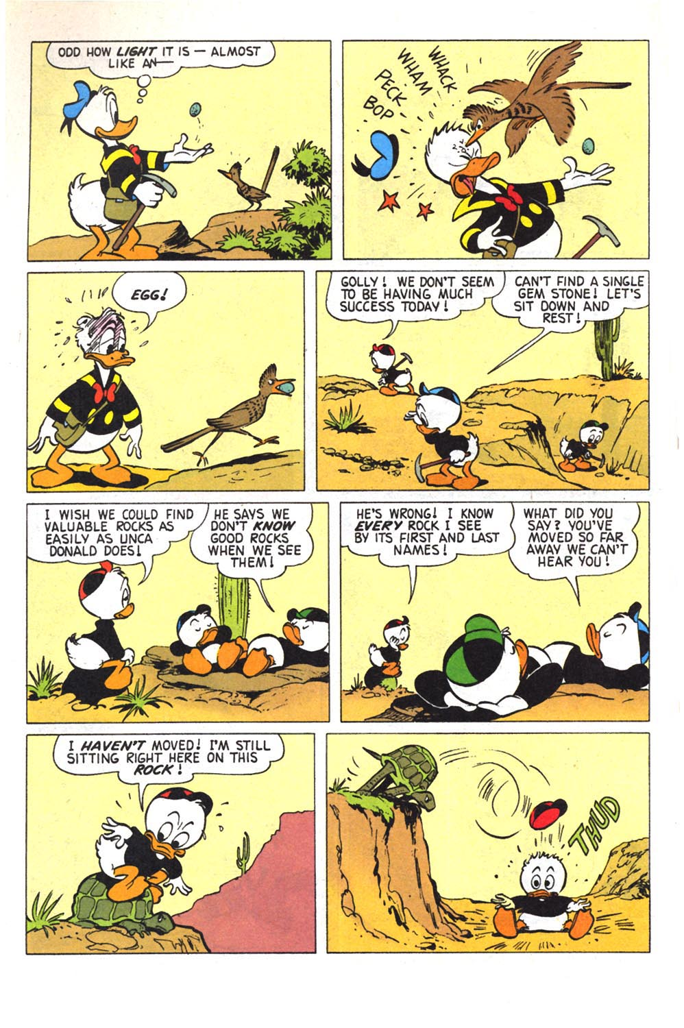 Read online Uncle Scrooge (1953) comic -  Issue #303 - 6