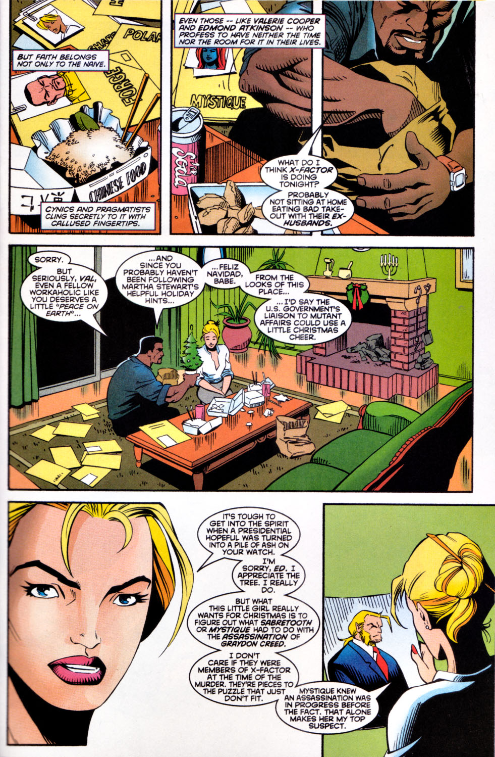 Read online X-Factor (1986) comic -  Issue #142 - 4