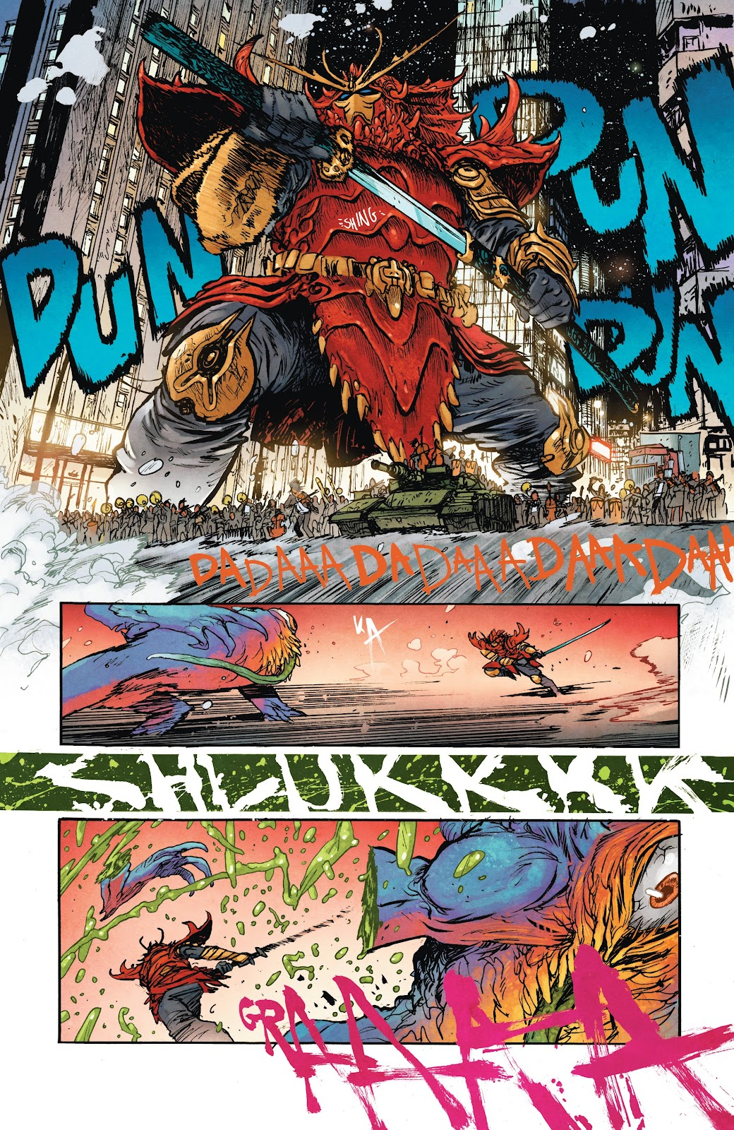 Read online Murder Falcon comic -  Issue #7 - 16