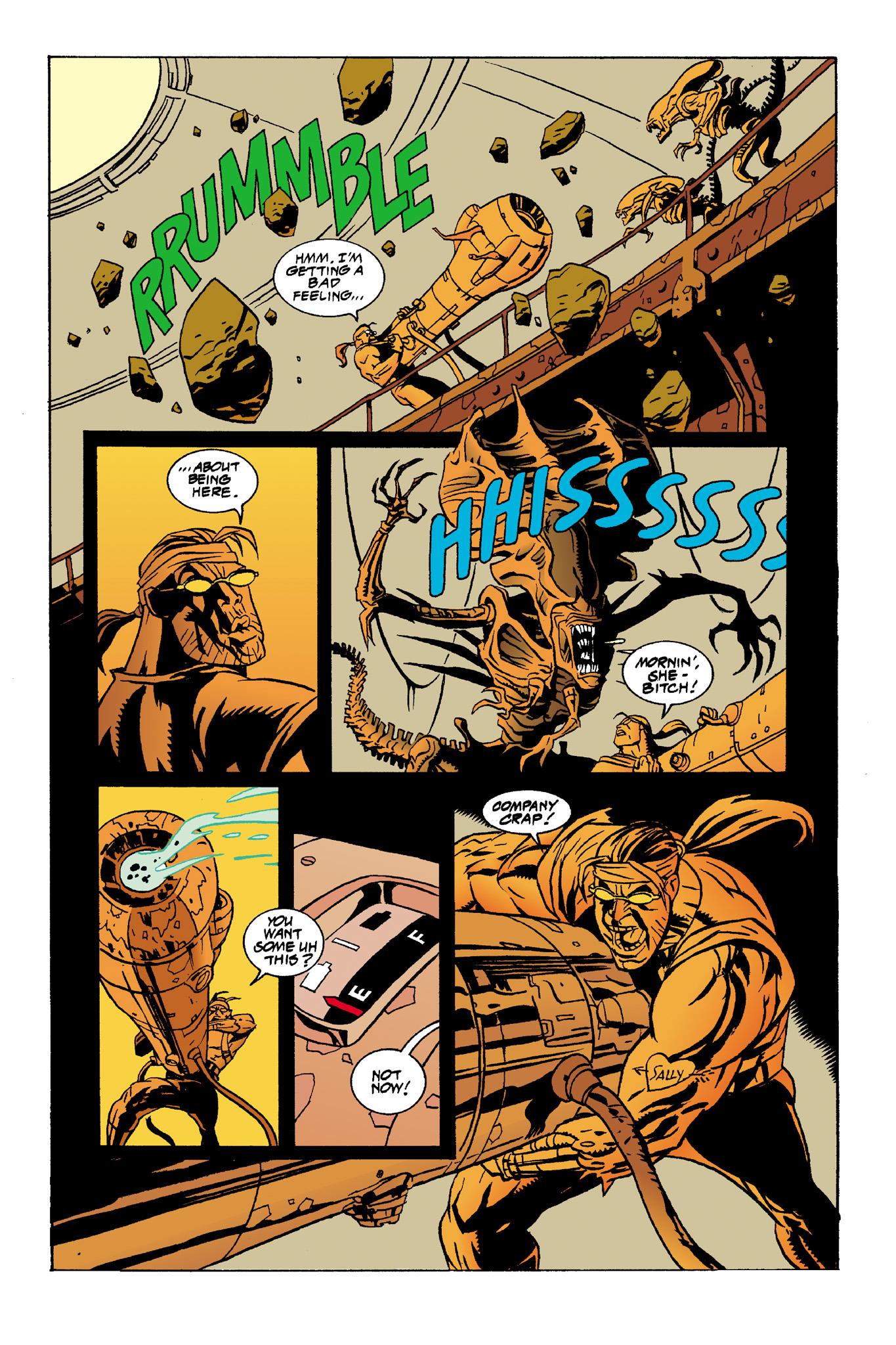 Read online Aliens: Mondo Heat comic -  Issue # Full - 18