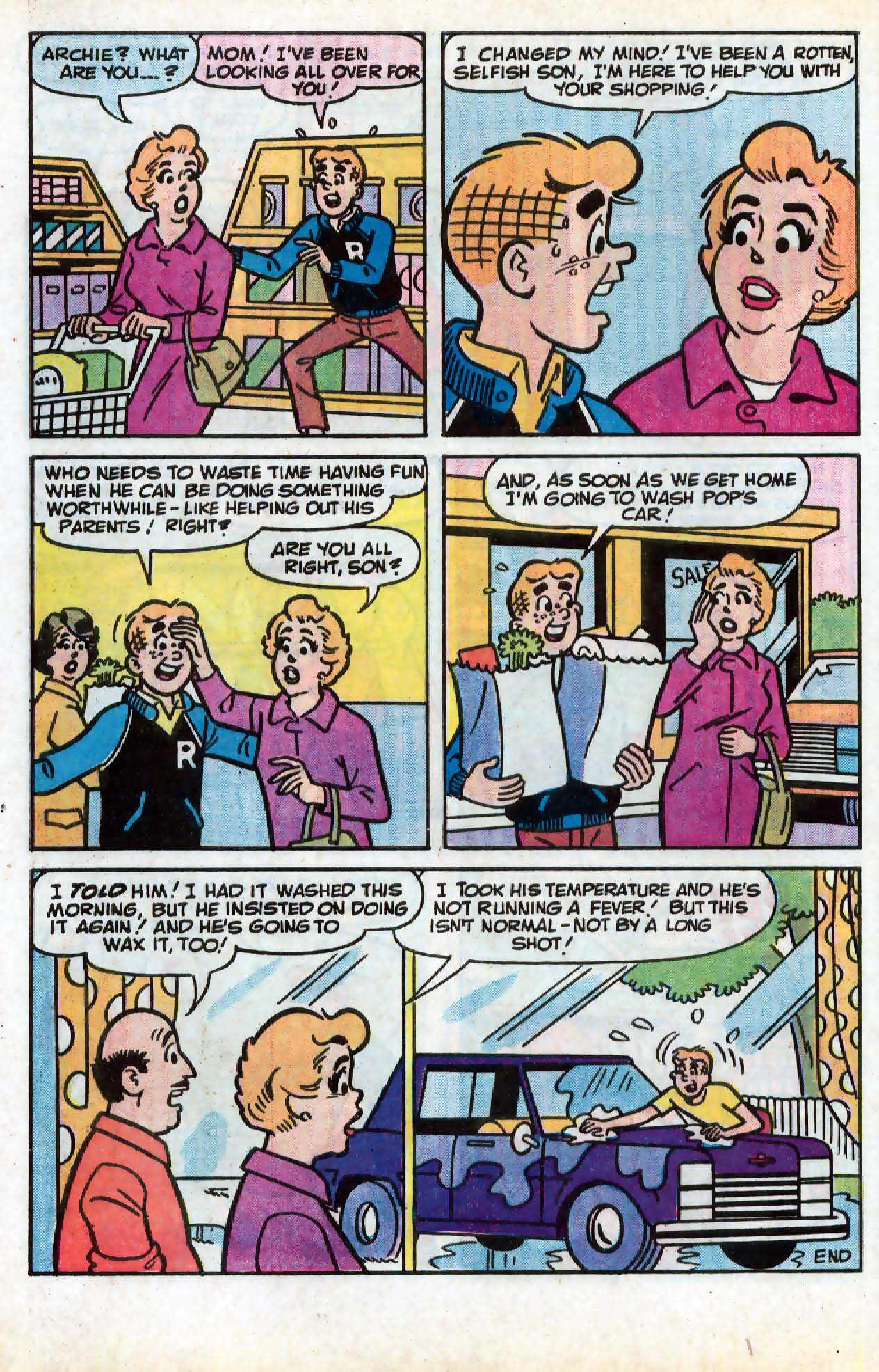 Read online Archie (1960) comic -  Issue #331 - 7