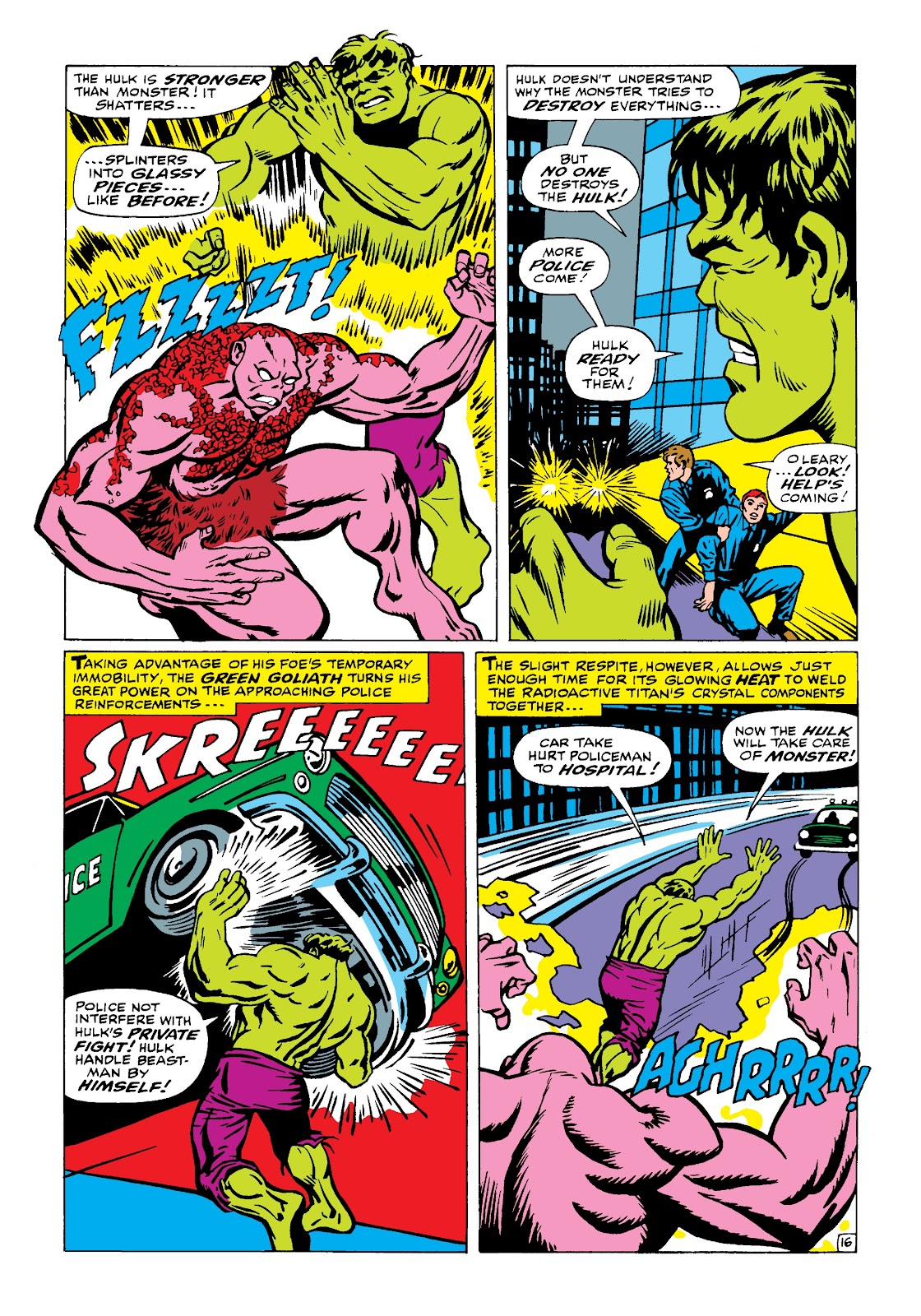 Read online Marvel Masterworks: The Incredible Hulk comic -  Issue # TPB 4 (Part 1) - 65