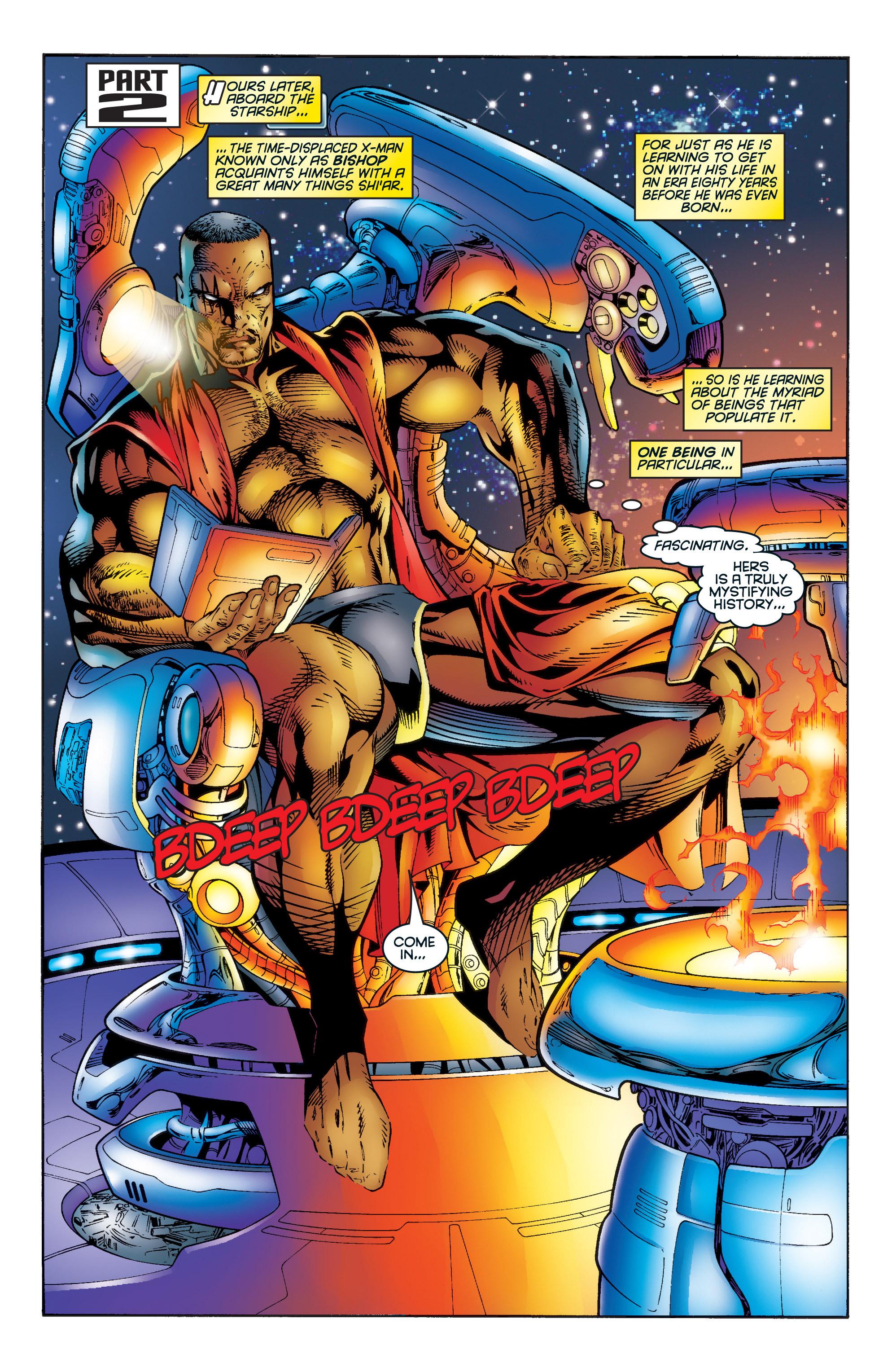 Read online Uncanny X-Men (1963) comic -  Issue #345 - 17