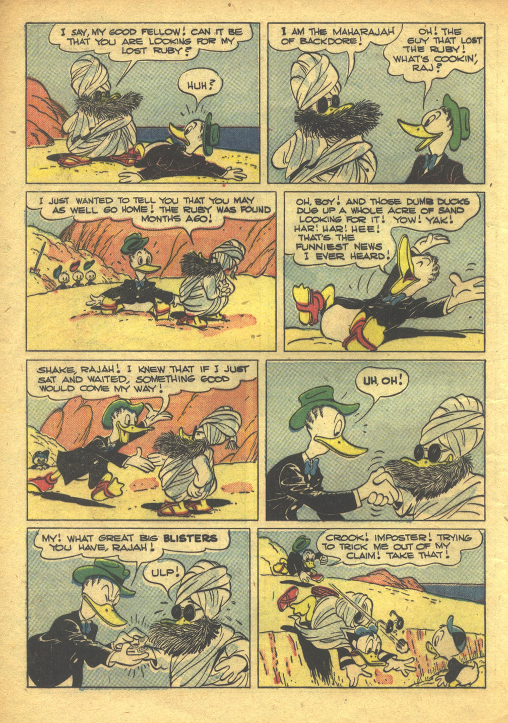 Walt Disney's Comics and Stories issue 103 - Page 8