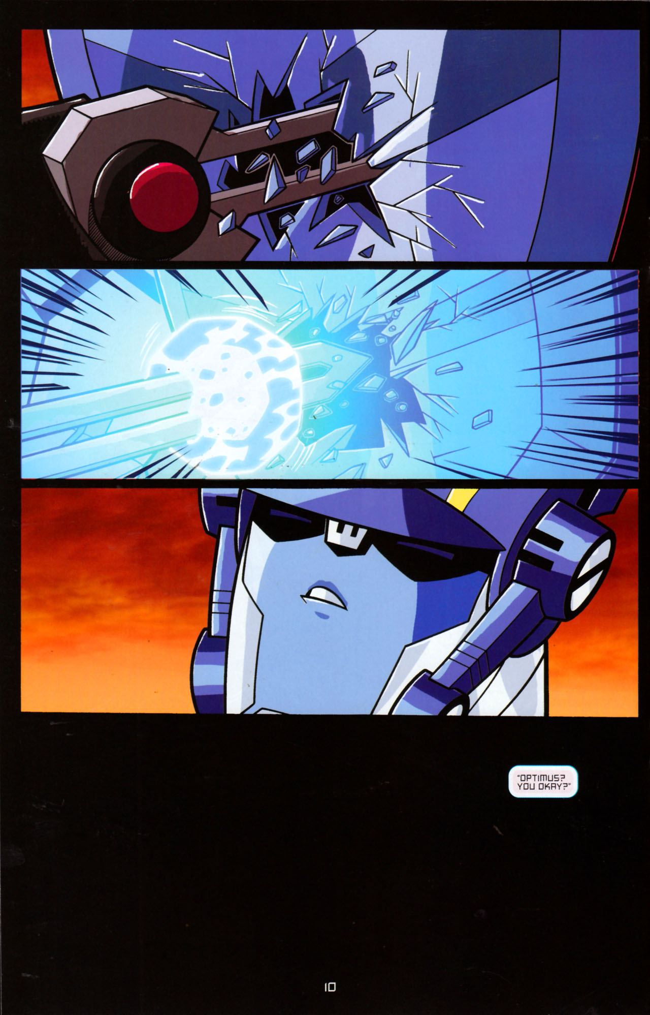 Read online Transformers Animated: The Arrival comic -  Issue #5 - 14
