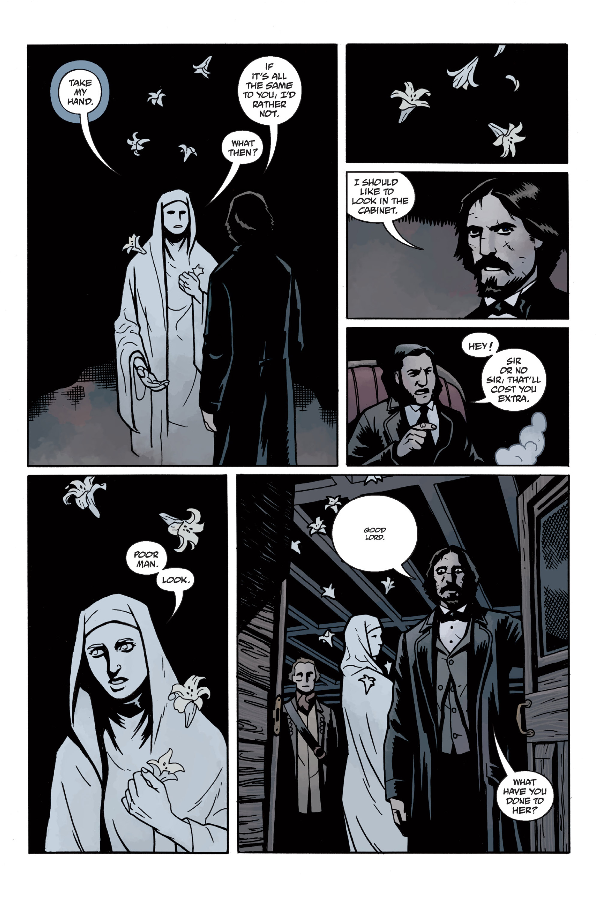 Read online Sir Edward Grey, Witchfinder: In the Service of Angels comic -  Issue # TPB - 46