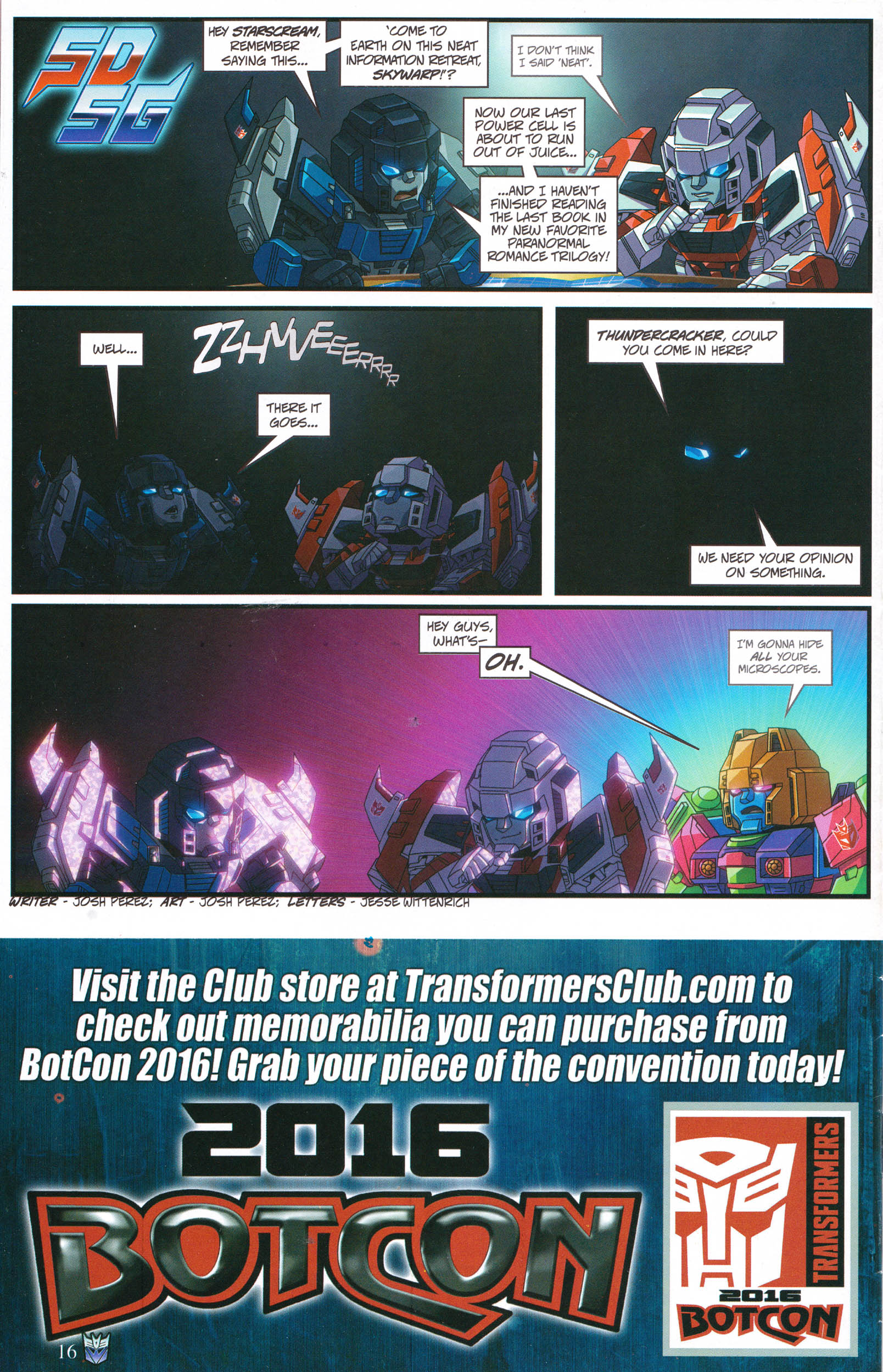 Read online Transformers: Collectors' Club comic -  Issue #68 - 16
