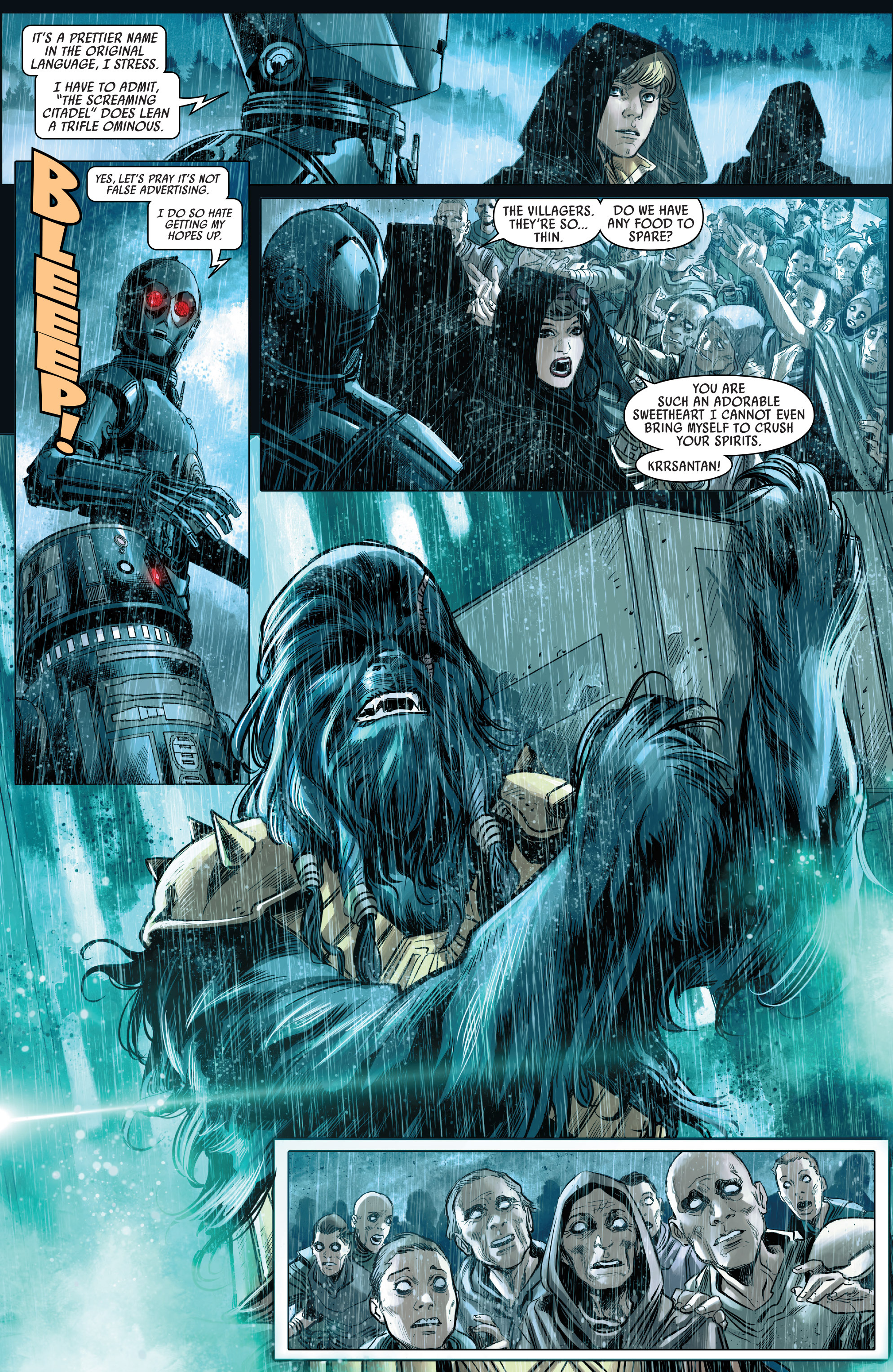 Read online Star Wars: The Screaming Citadel comic -  Issue # Full - 16
