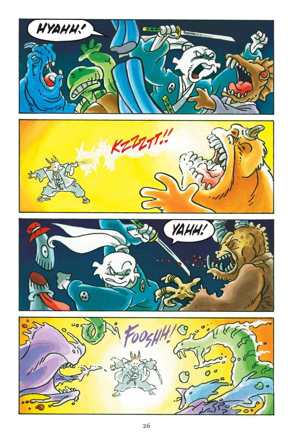 Read online Usagi Yojimbo: Yokai comic -  Issue # Full - 26