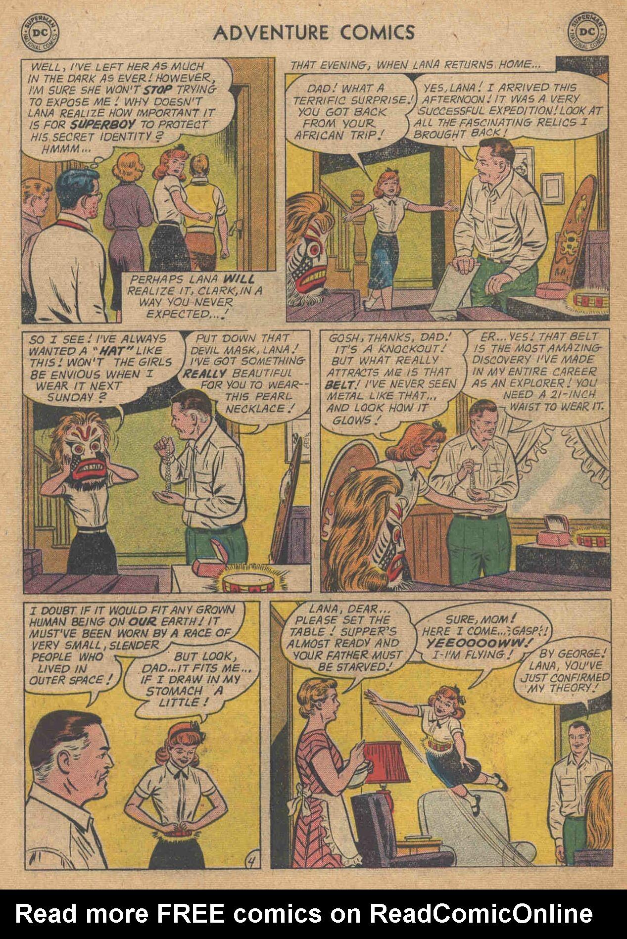 Read online Adventure Comics (1938) comic -  Issue #285 - 6