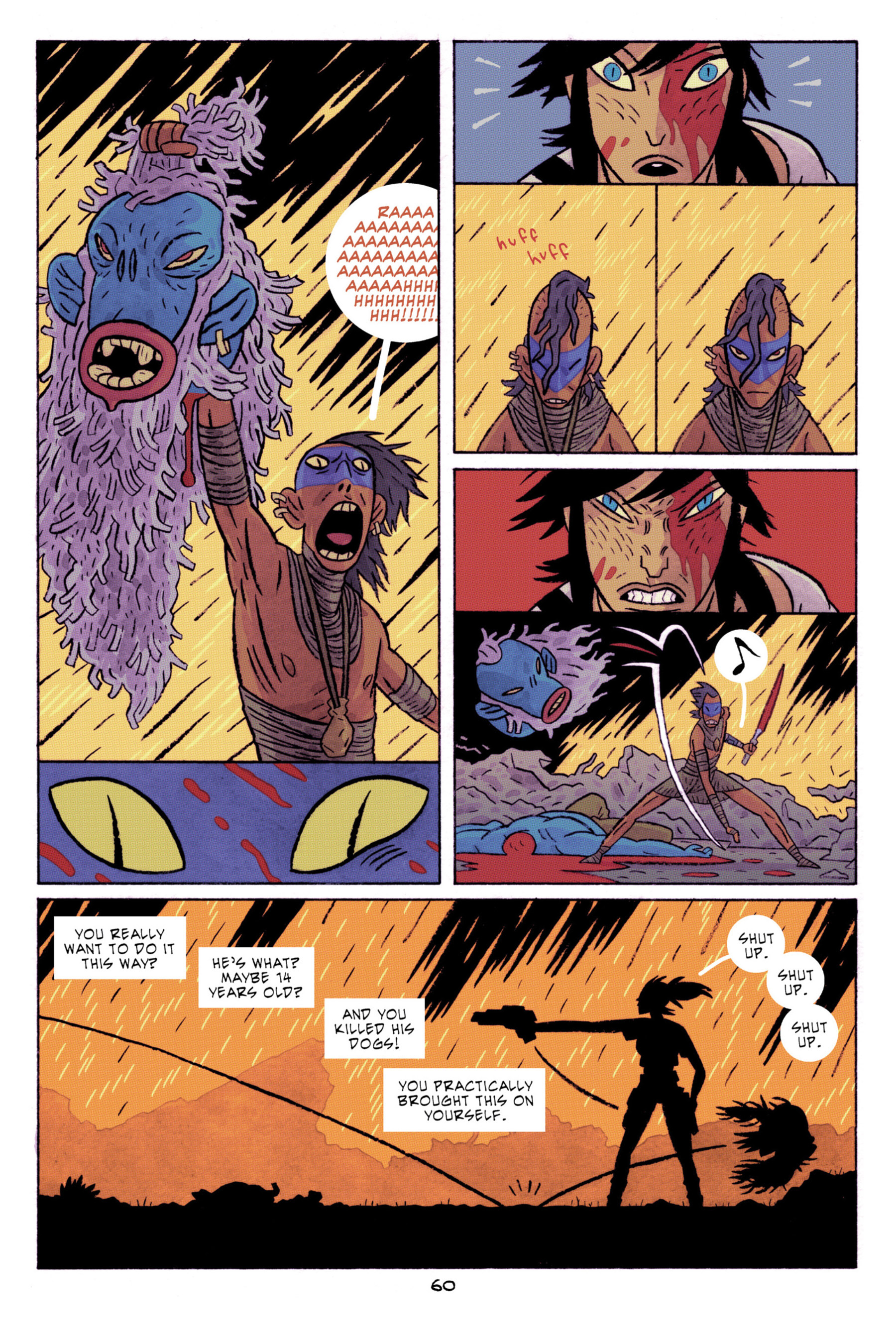 Read online ApocalyptiGirl: An Aria for the End Times comic -  Issue #ApocalyptiGirl: An Aria for the End Times Full - 68