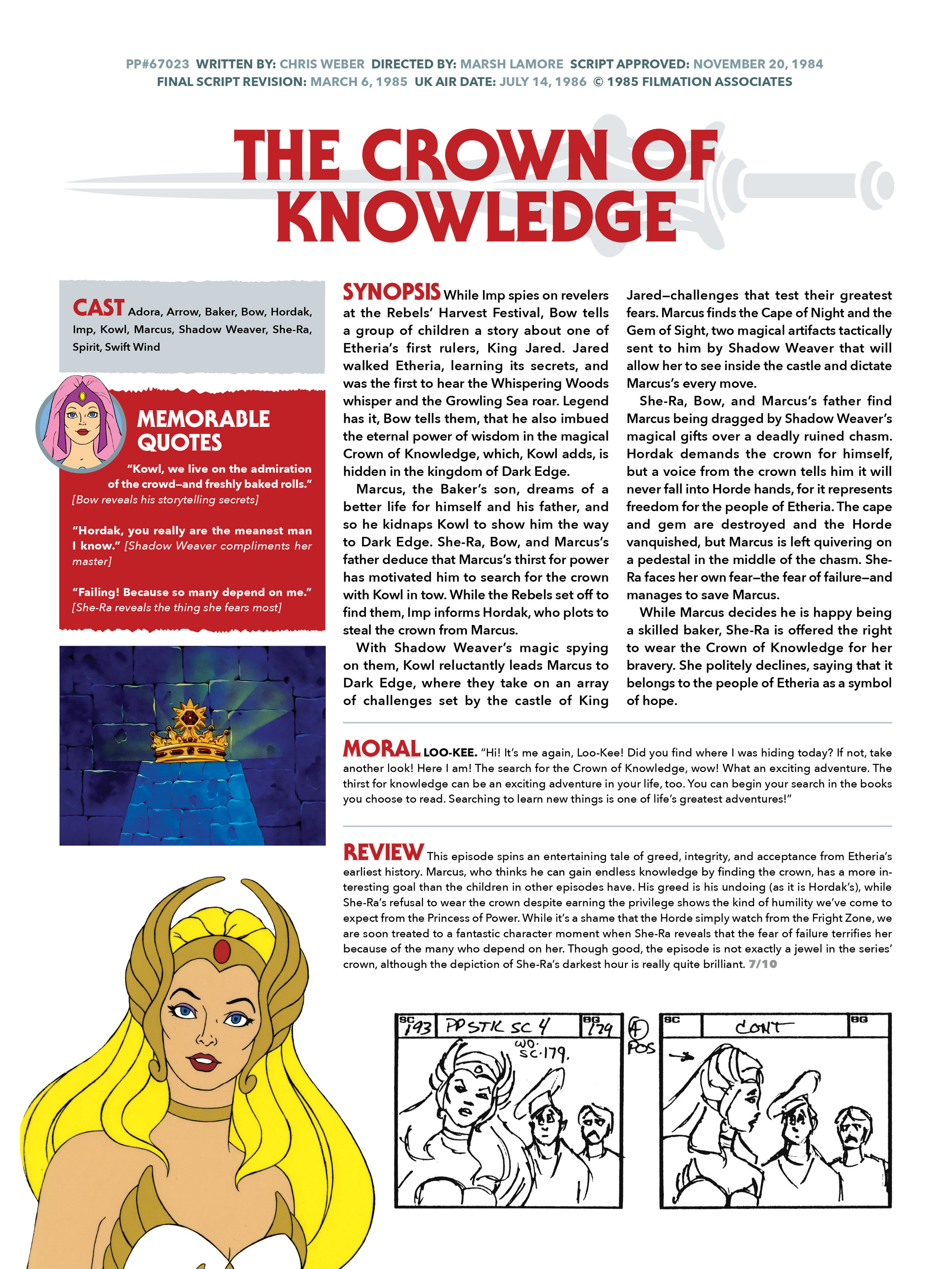 Read online He-Man and She-Ra: A Complete Guide to the Classic Animated Adventures comic -  Issue # TPB (Part 3) - 5