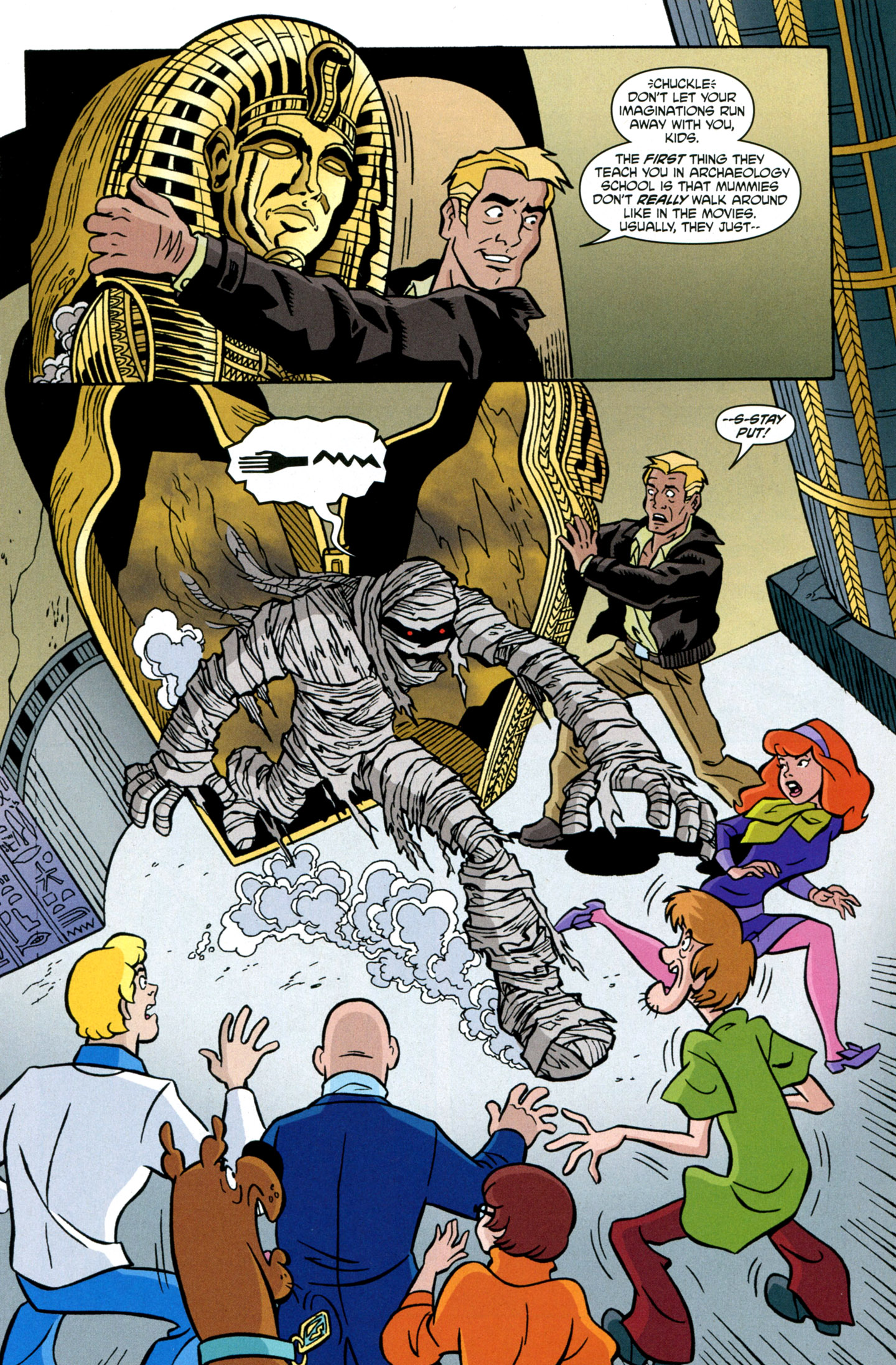Read online Scooby-Doo: Where Are You? comic -  Issue #24 - 5