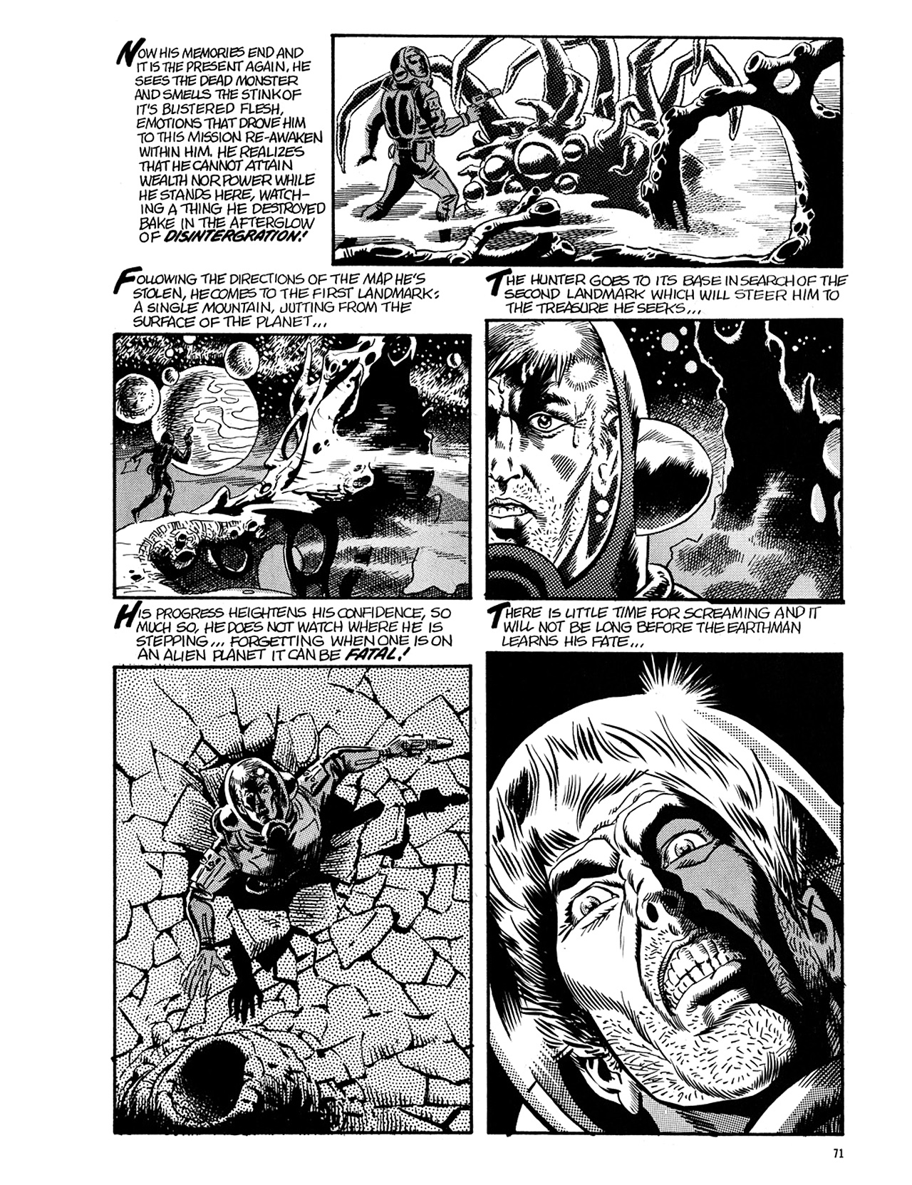 Read online Eerie Archives comic -  Issue # TPB 5 - 72