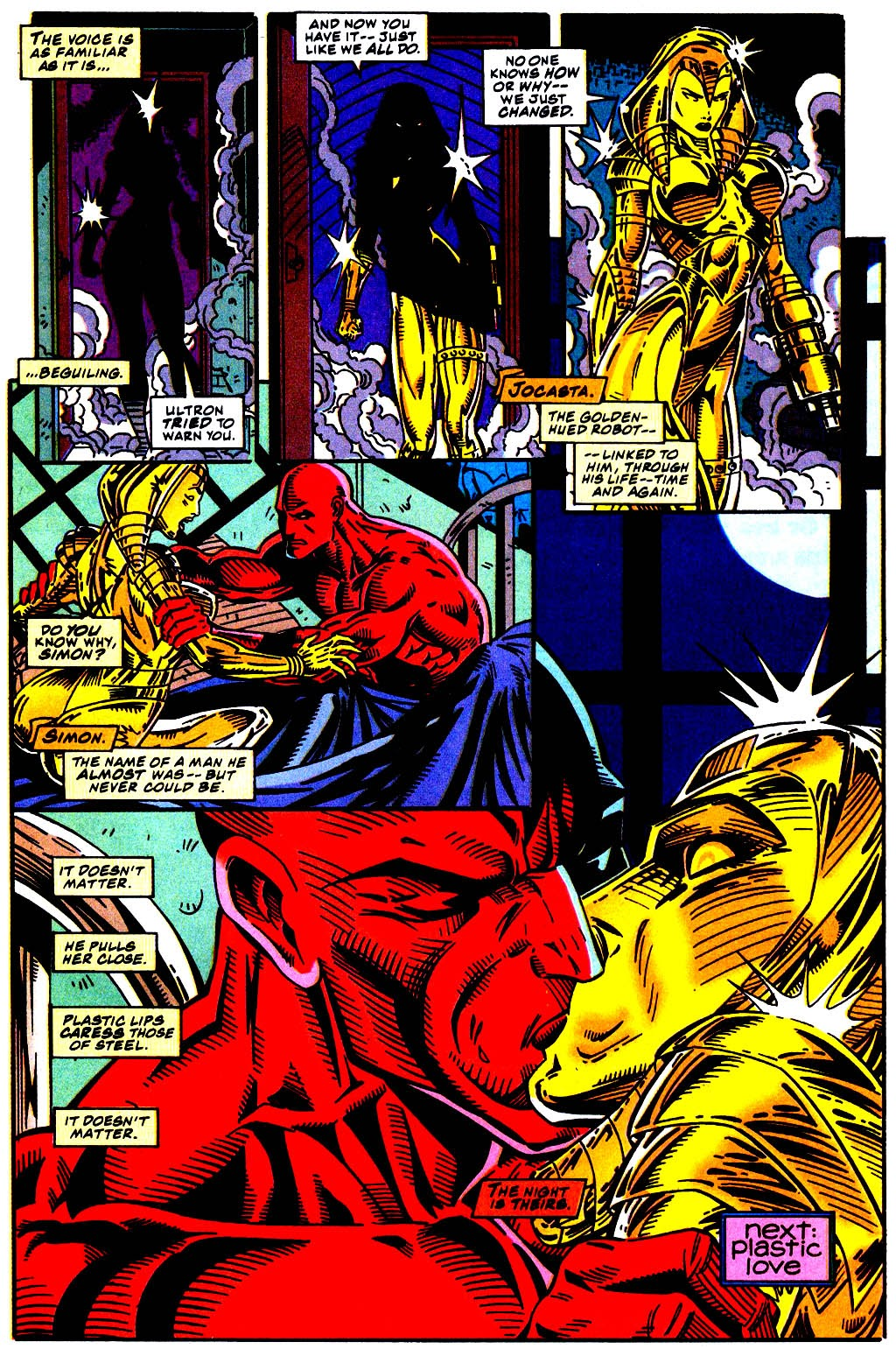 Read online The Vision comic -  Issue #1 - 23