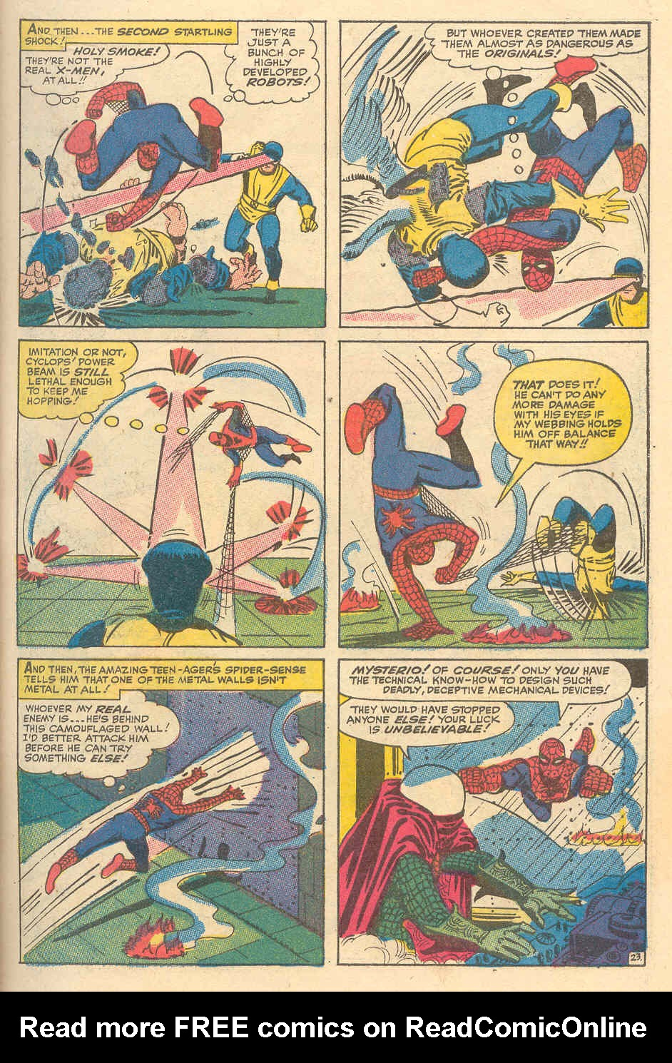 The Amazing Spider-Man (1963) _Annual_6 Page 23