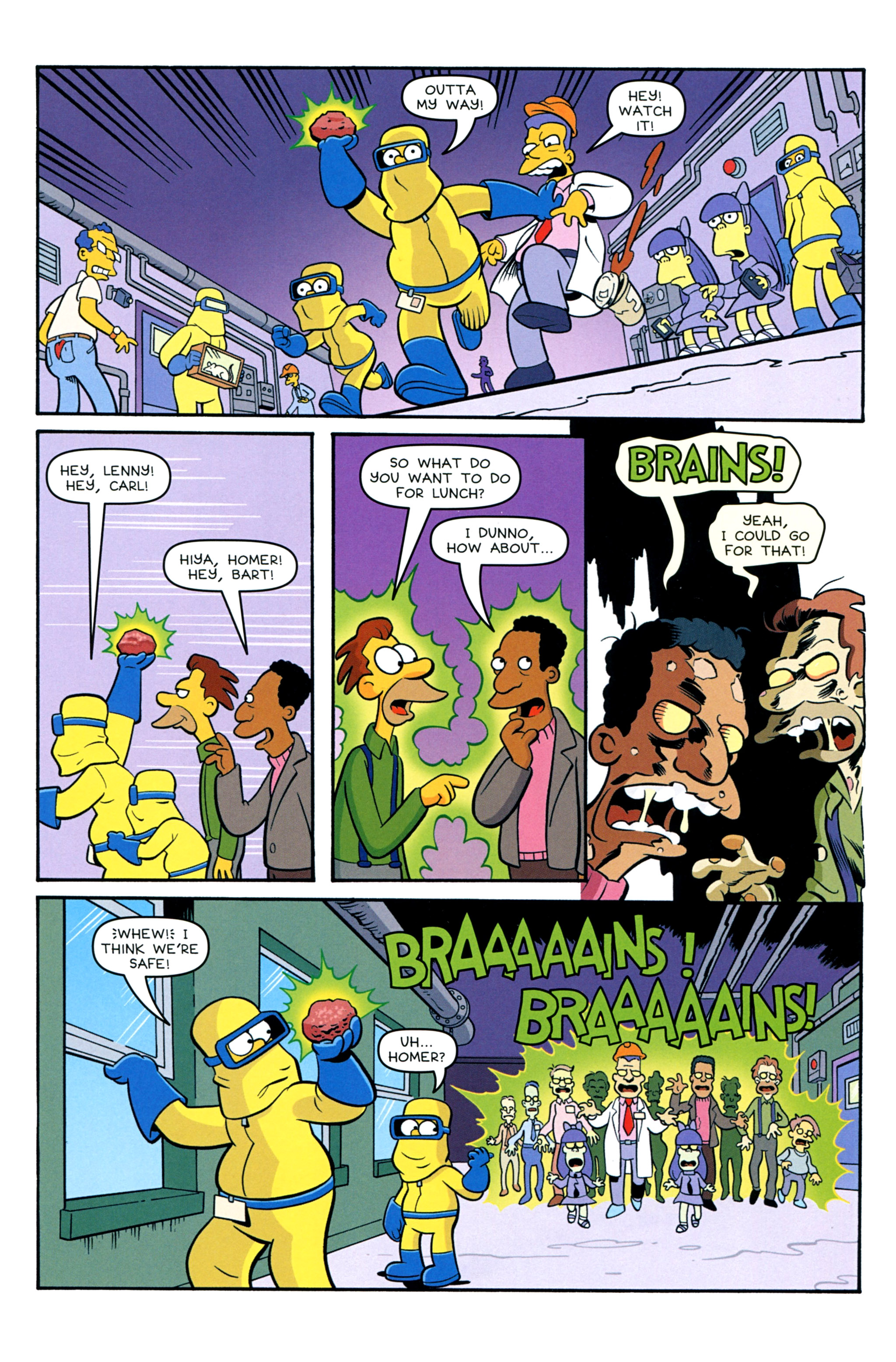 Read online Treehouse of Horror comic -  Issue #20 - 37