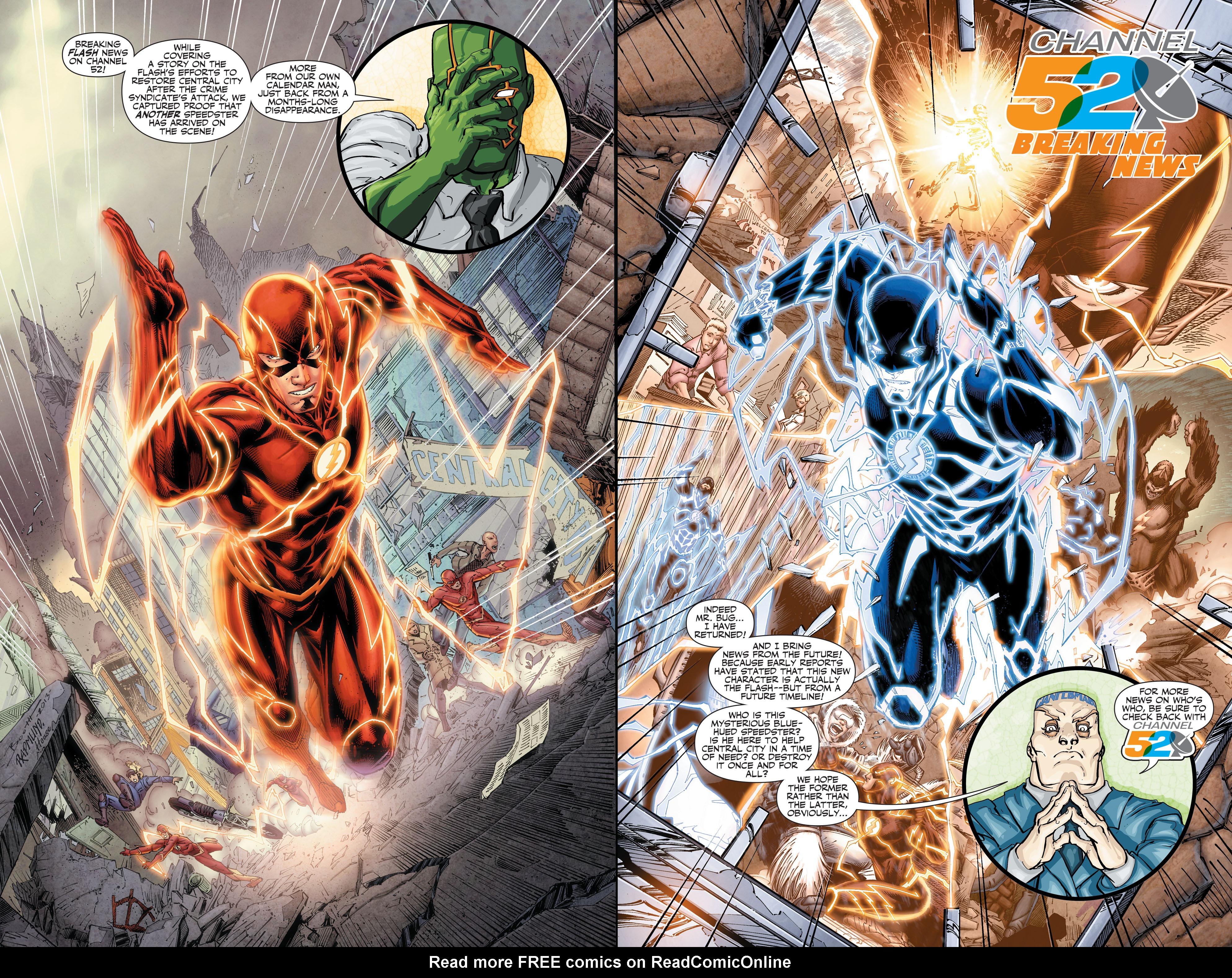 Read online Secret Origins (2014) comic -  Issue #1 - 38
