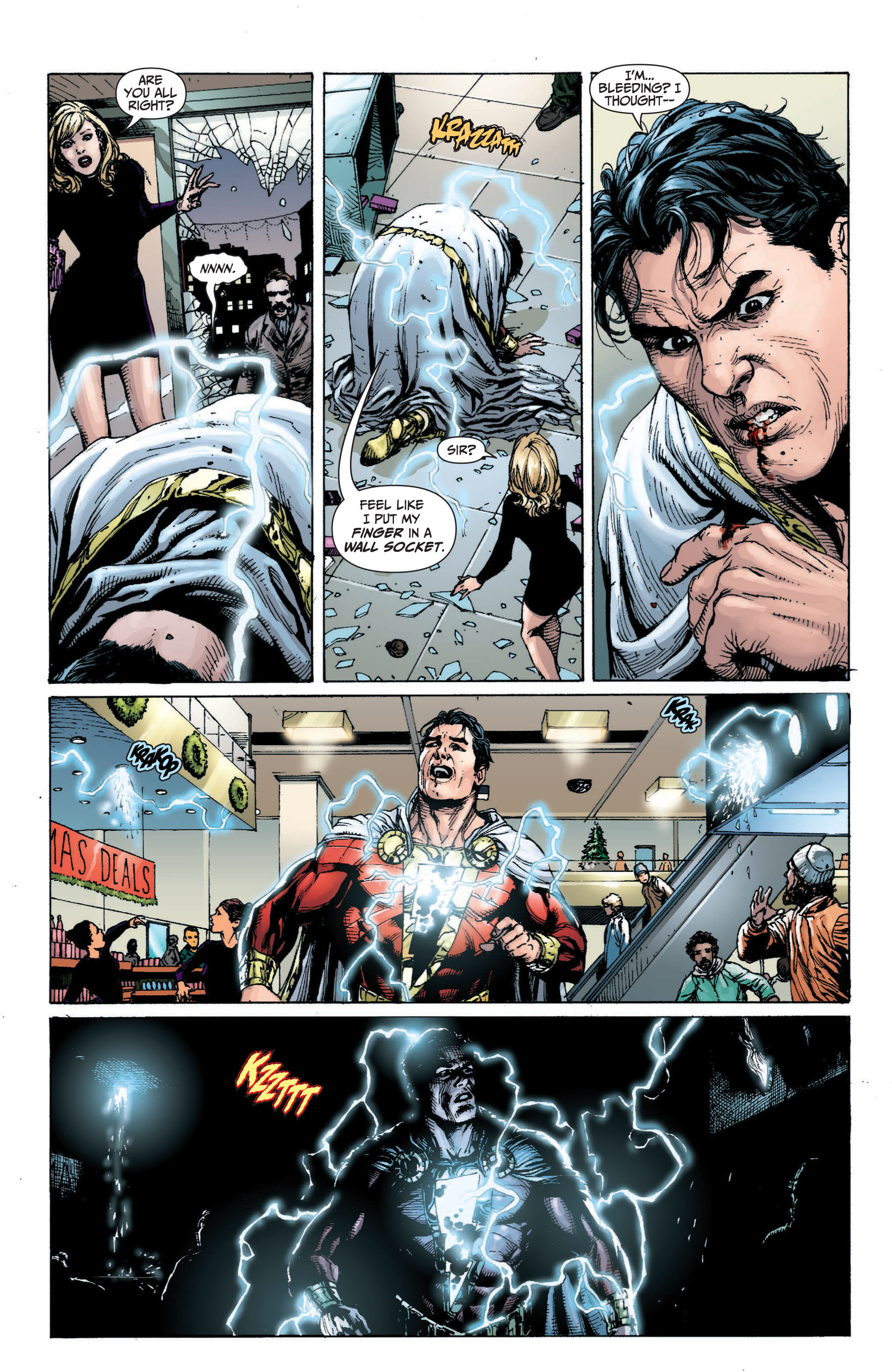 Read online Shazam! (2013) comic -  Issue #1 - 119