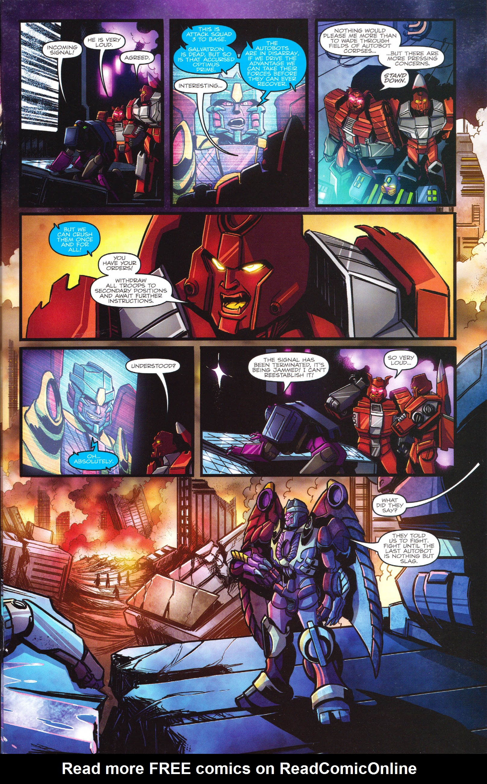 Read online Transformers: Dawn of the Predacus comic -  Issue # Full - 4